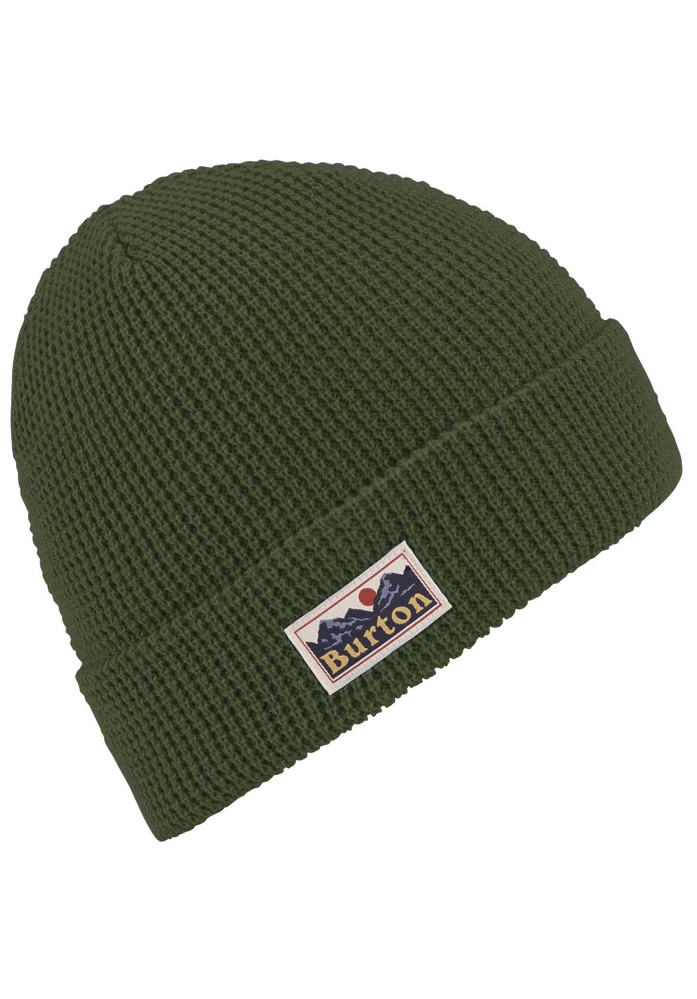 b90a7e49522 Burton Waffle - Beanie for Men - Green - Planet Sports