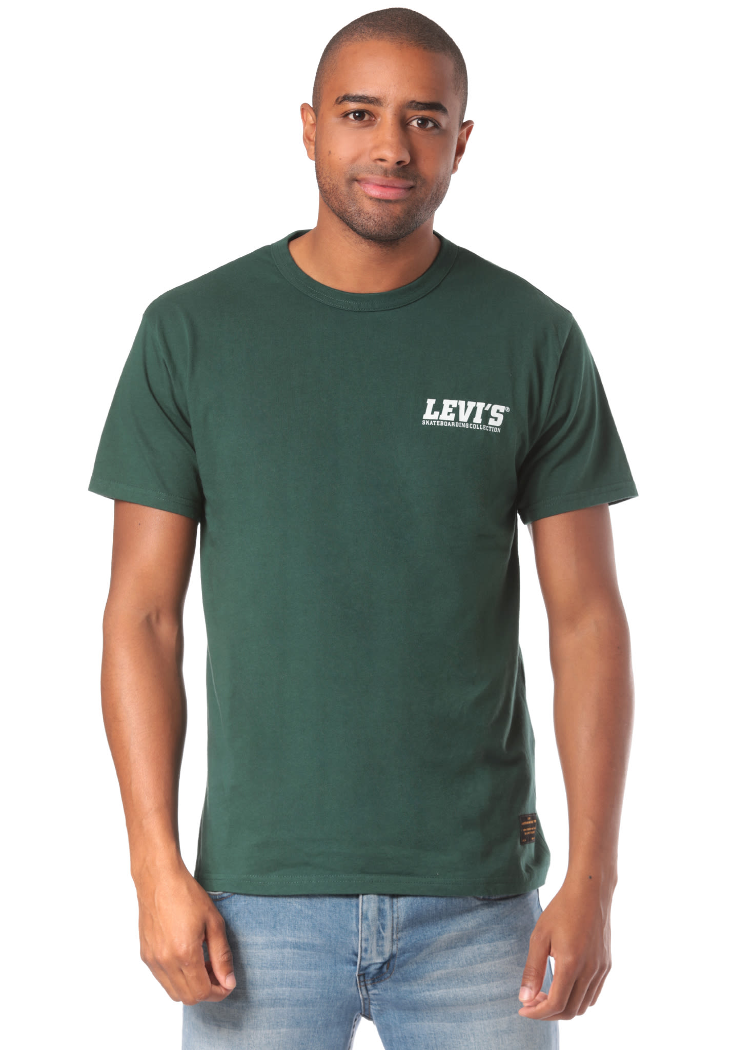 f06a6c14c Levi s Skate Graphic - T-Shirt for Men - Green - Planet Sports
