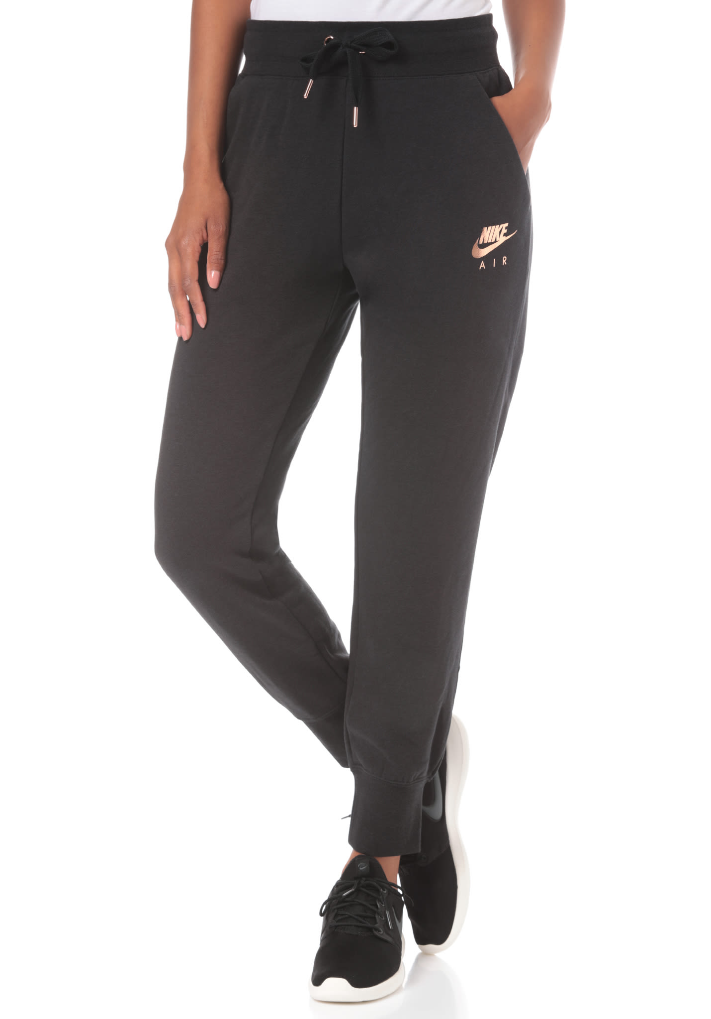 e2e2c952f8 NIKE SPORTSWEAR Air Reg - Trackpants for Women - Black - Planet Sports
