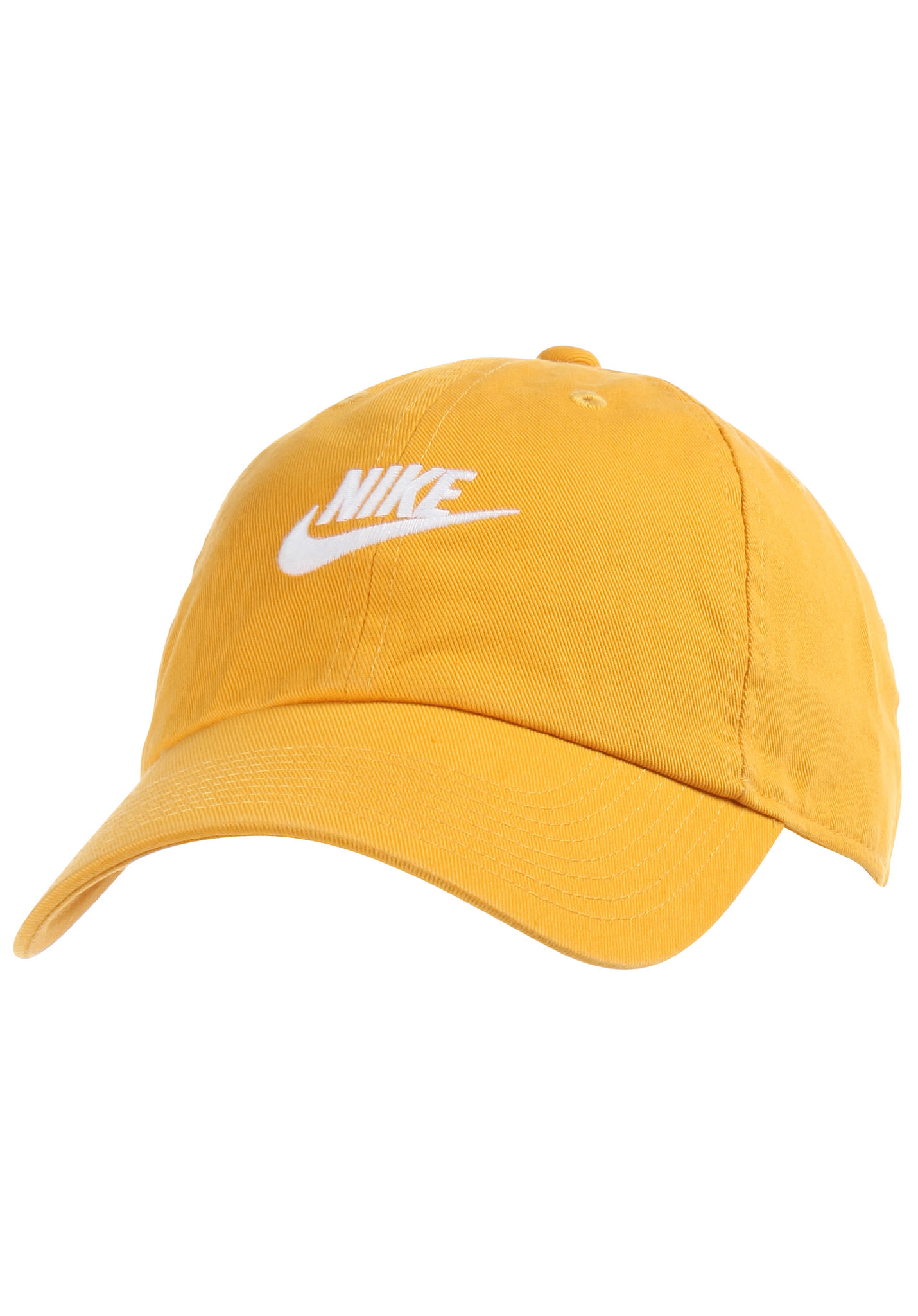 77ee89df97b NIKE SPORTSWEAR H86 Futura Washed - Strapback Cap - Yellow - Planet Sports
