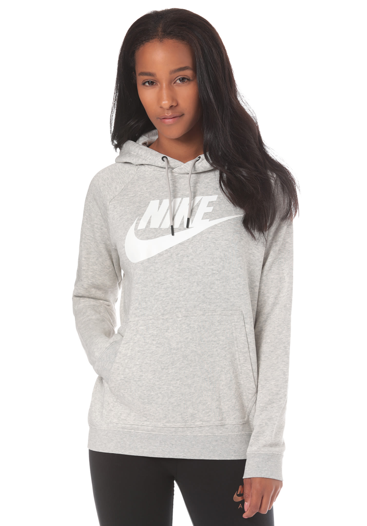 low priced df5b3 9accb NIKE SPORTSWEAR Rally - Kapuzenpullover für Damen - Grau