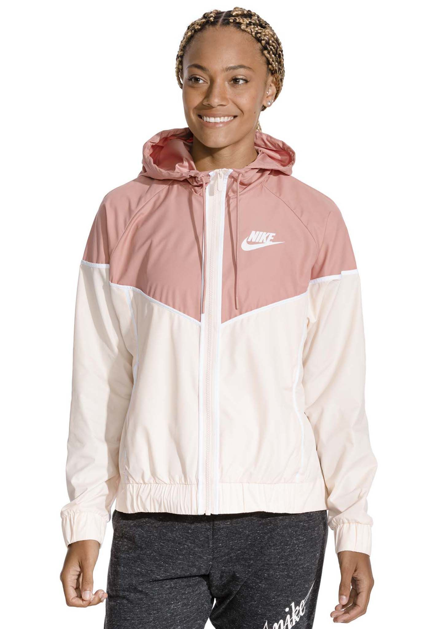 buy online 34196 c580e NIKE SPORTSWEAR Windrunner - Jacket for Women - Pink - Plane