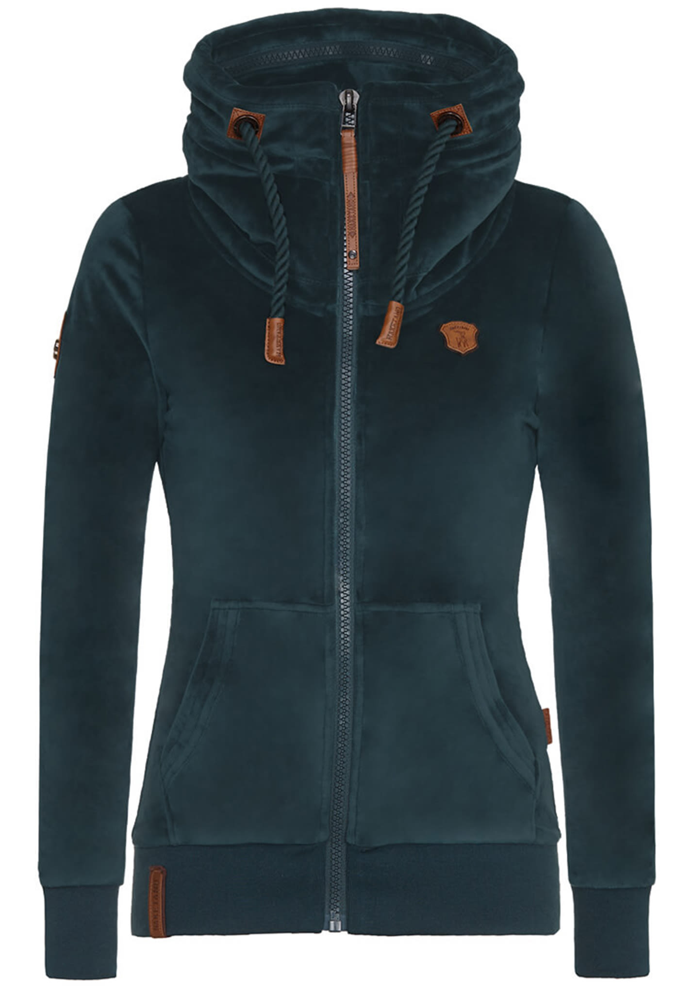naketano sweatjacke damen xl grün