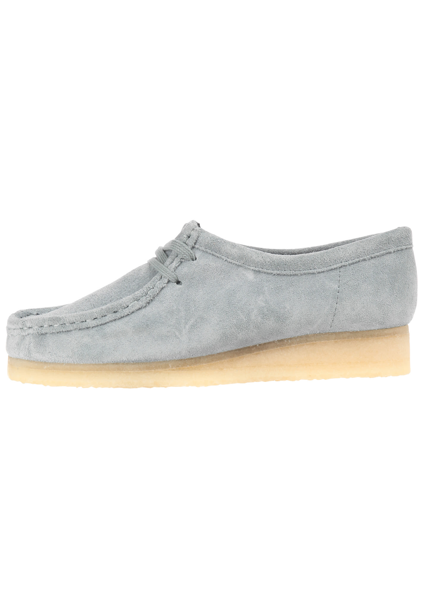 best service 85e59 d197f CLARKS ORIGINALS Wallabee - Fashion Schuhe für Damen - Blau