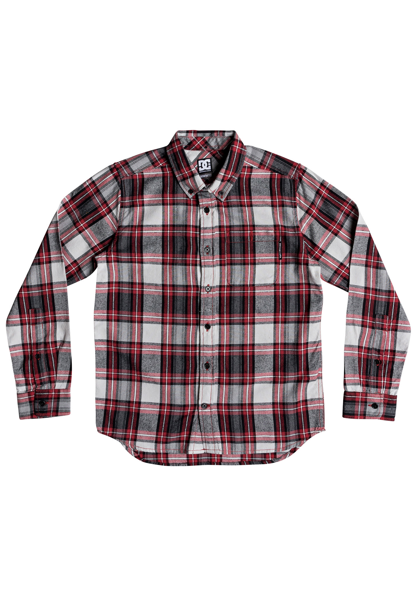 f2554d57a DC Northboat L/S - Shirt for Kids Boys - Plaid - Planet Sports