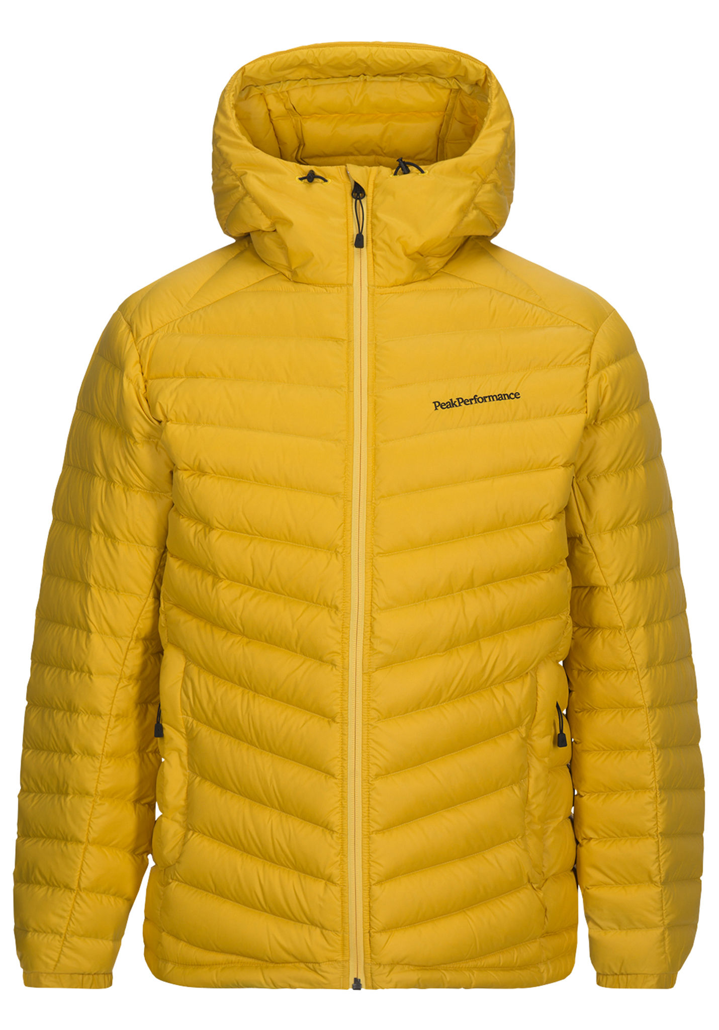quality design 2f861 ef4a4 PEAK PERFORMANCE Frost Down Hood - Outdoor Jacket for Men - Yellow