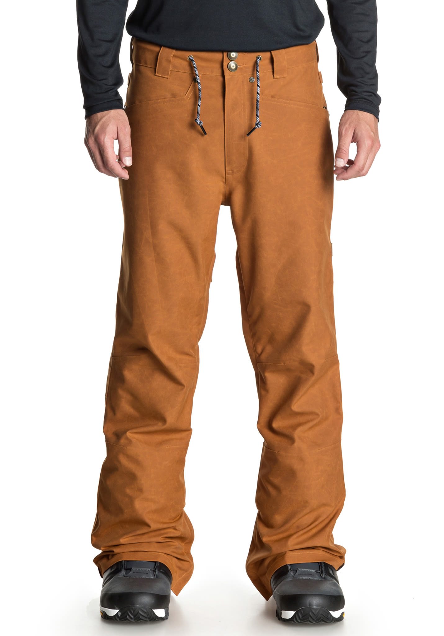 95625144d20 DC Relay - Snowboard Pants for Men - Brown - Planet Sports