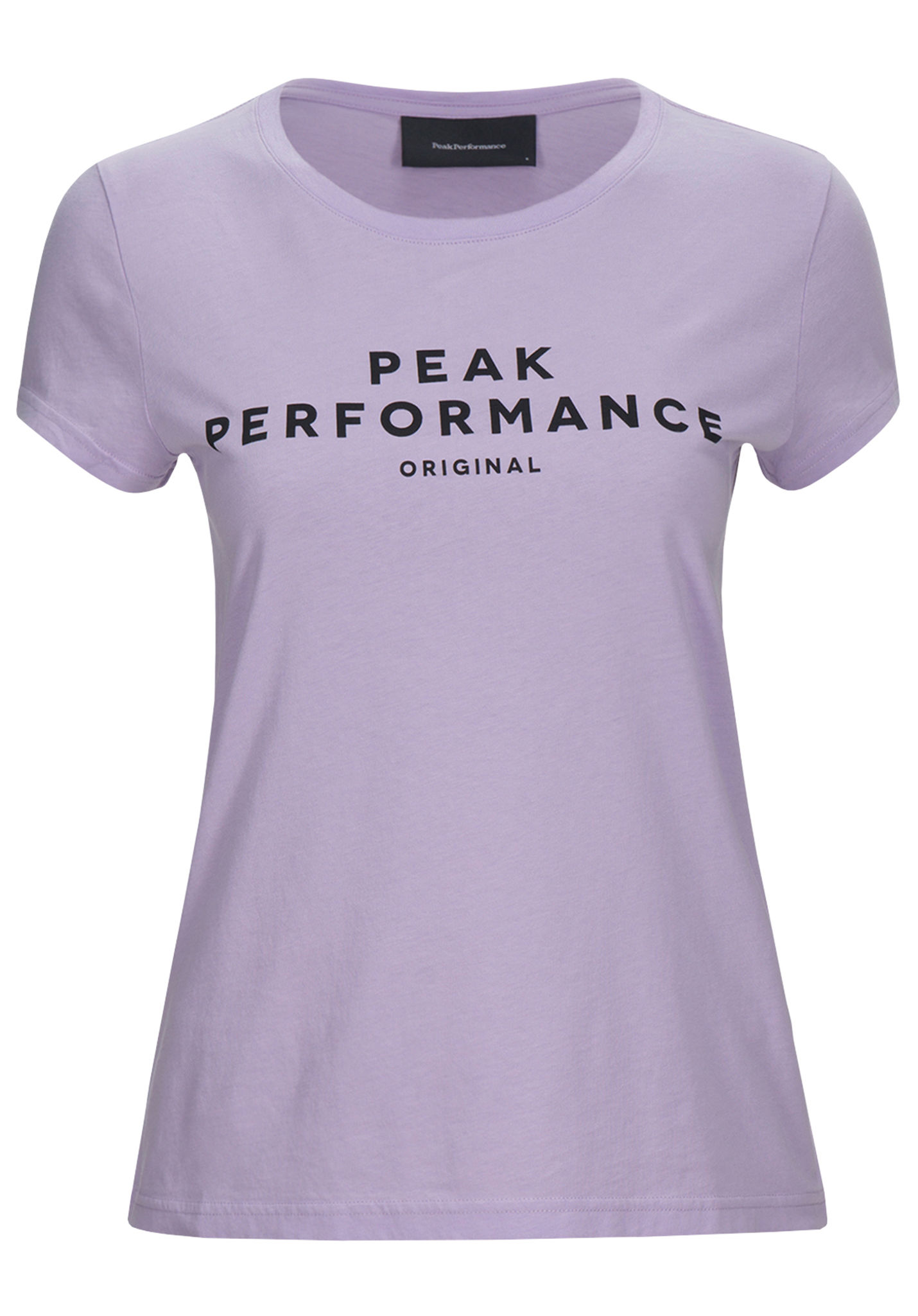 5db8a61a PEAK PERFORMANCE Logo - T-Shirt for Women - Purple - Planet Sports