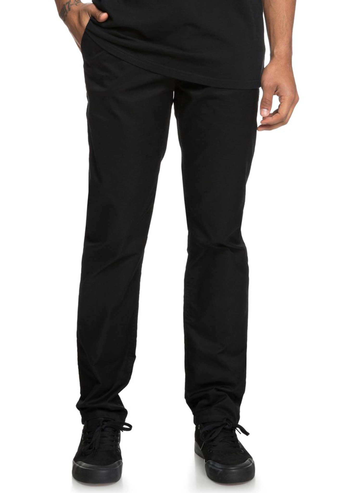 DC Worker Slim - Trousers for Men - Black - Planet Sports 312771861c