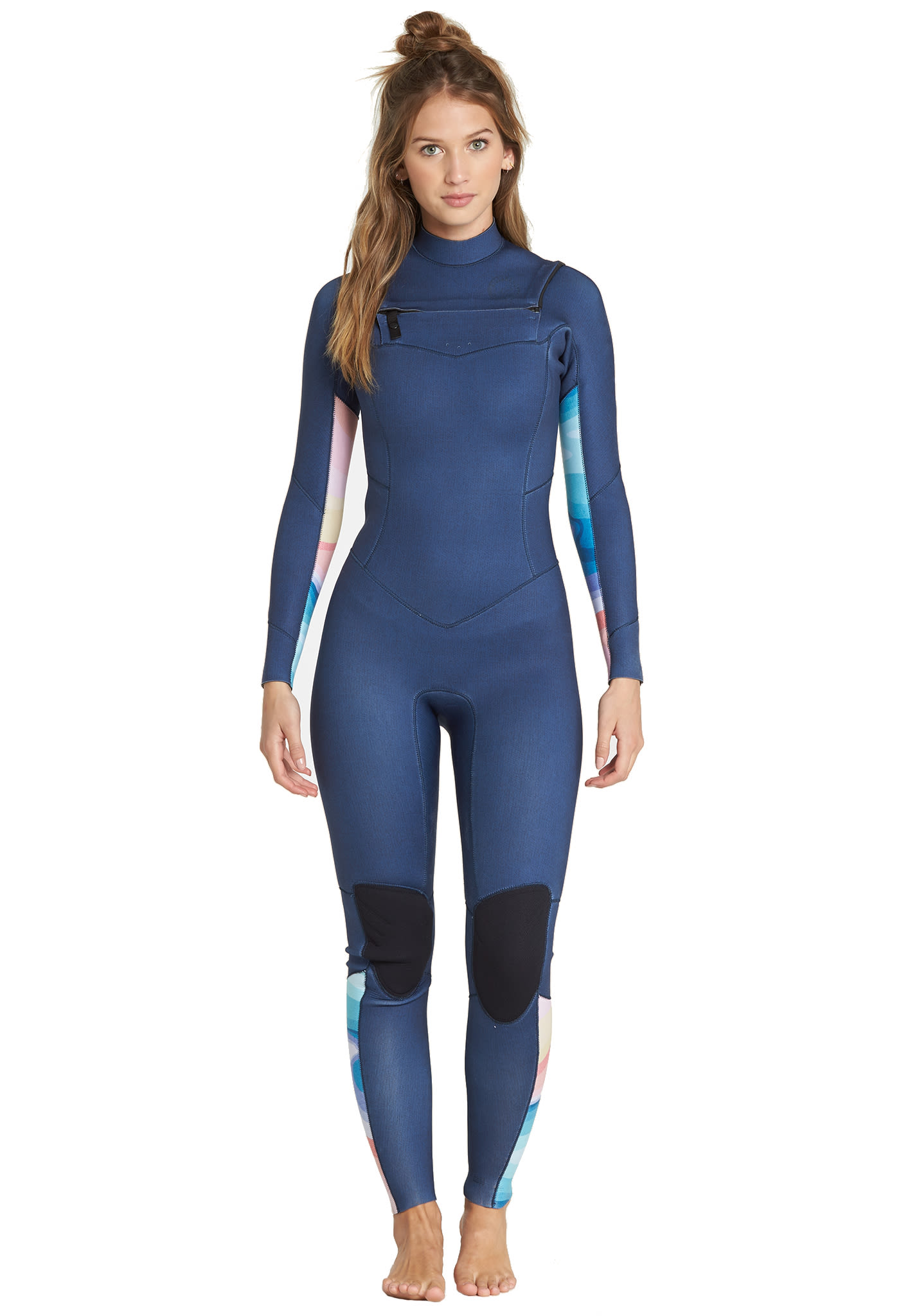 72ae4015f3 BILLABONG Salty Dayz 3 2mm Chest Zip - Wetsuit for Women - Blue - Planet  Sports