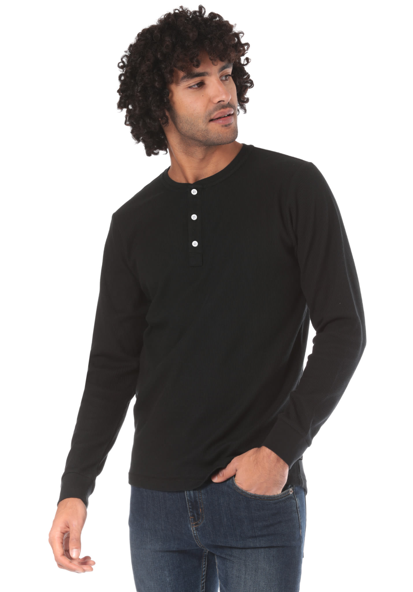 quality design really comfortable another chance NIKE SB Top Thermal Henley - Long-sleeved Shirt for Men - Black