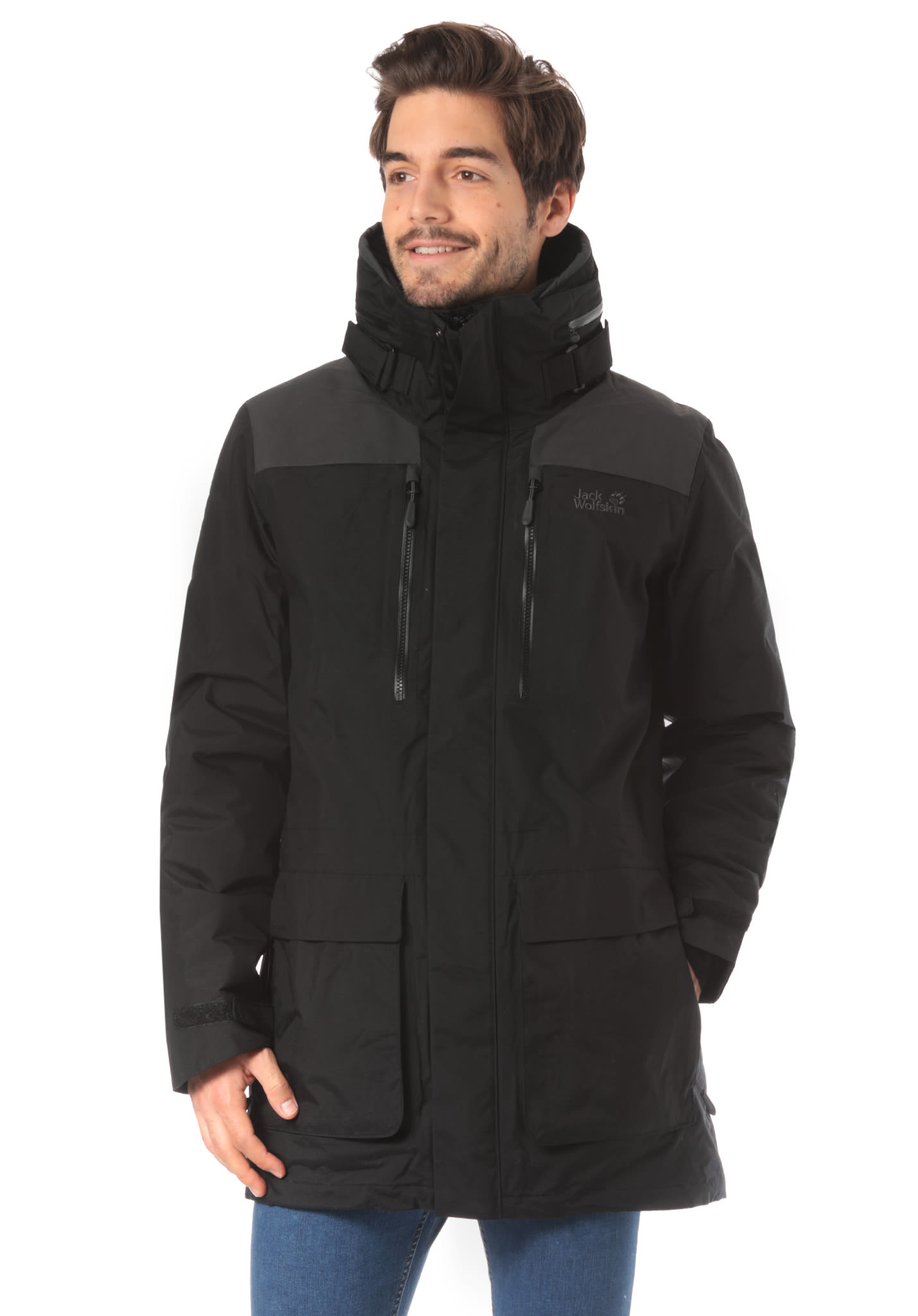 lowest price d8a3d c5362 Jack Wolfskin Yukon - Giacca outdoor per Uomo - Nero