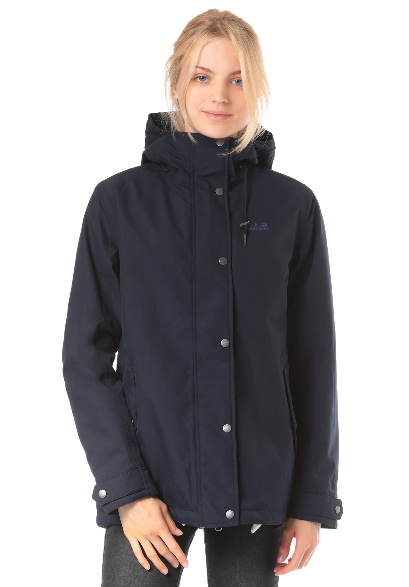 5bbbf70ef108 Jack Wolfskin Mora - Outdoorjacke für Damen - Blau - Planet Sports