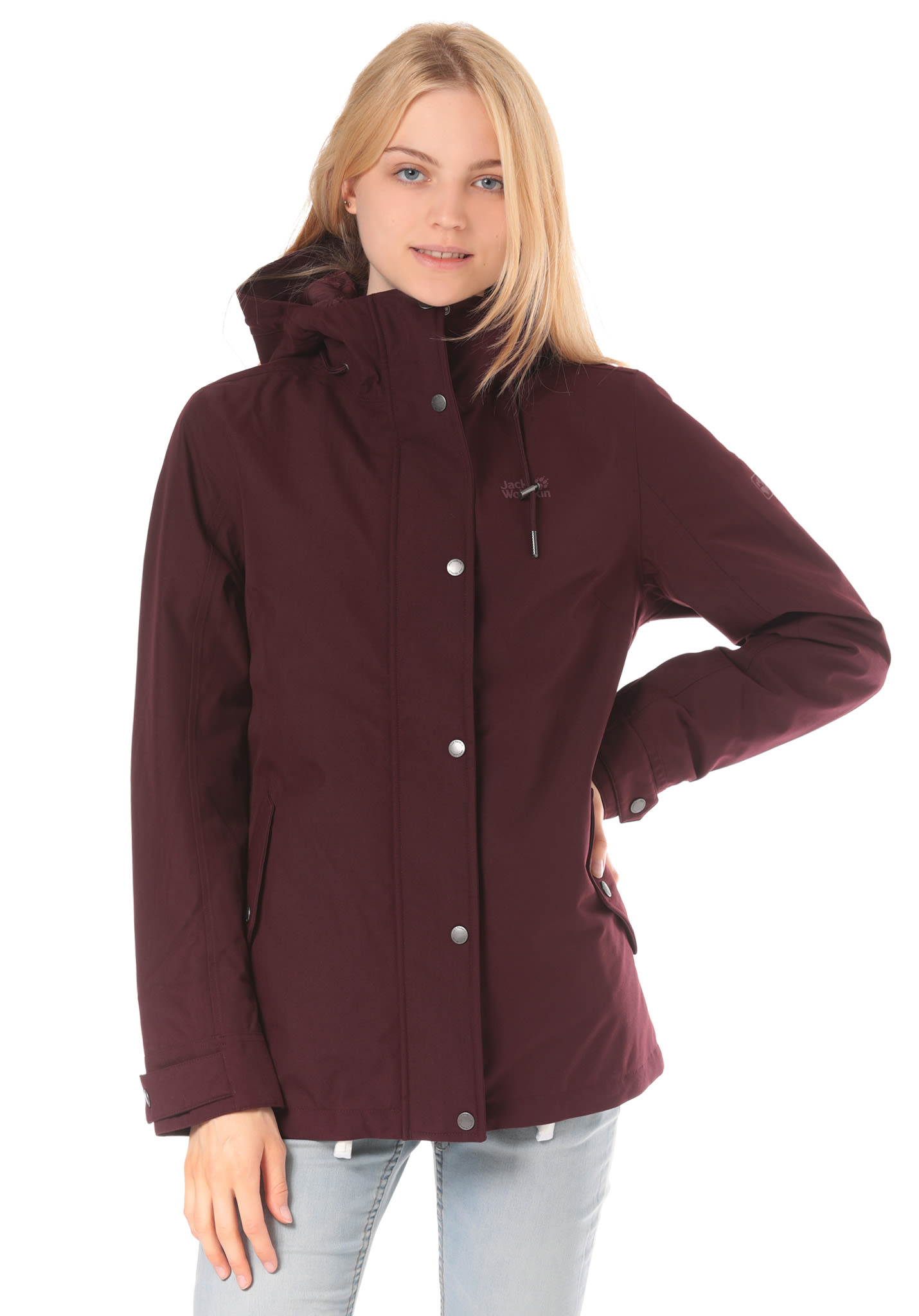 1568be078cce Jack Wolfskin Mora - Outdoorjacke für Damen - Rot - Planet Sports