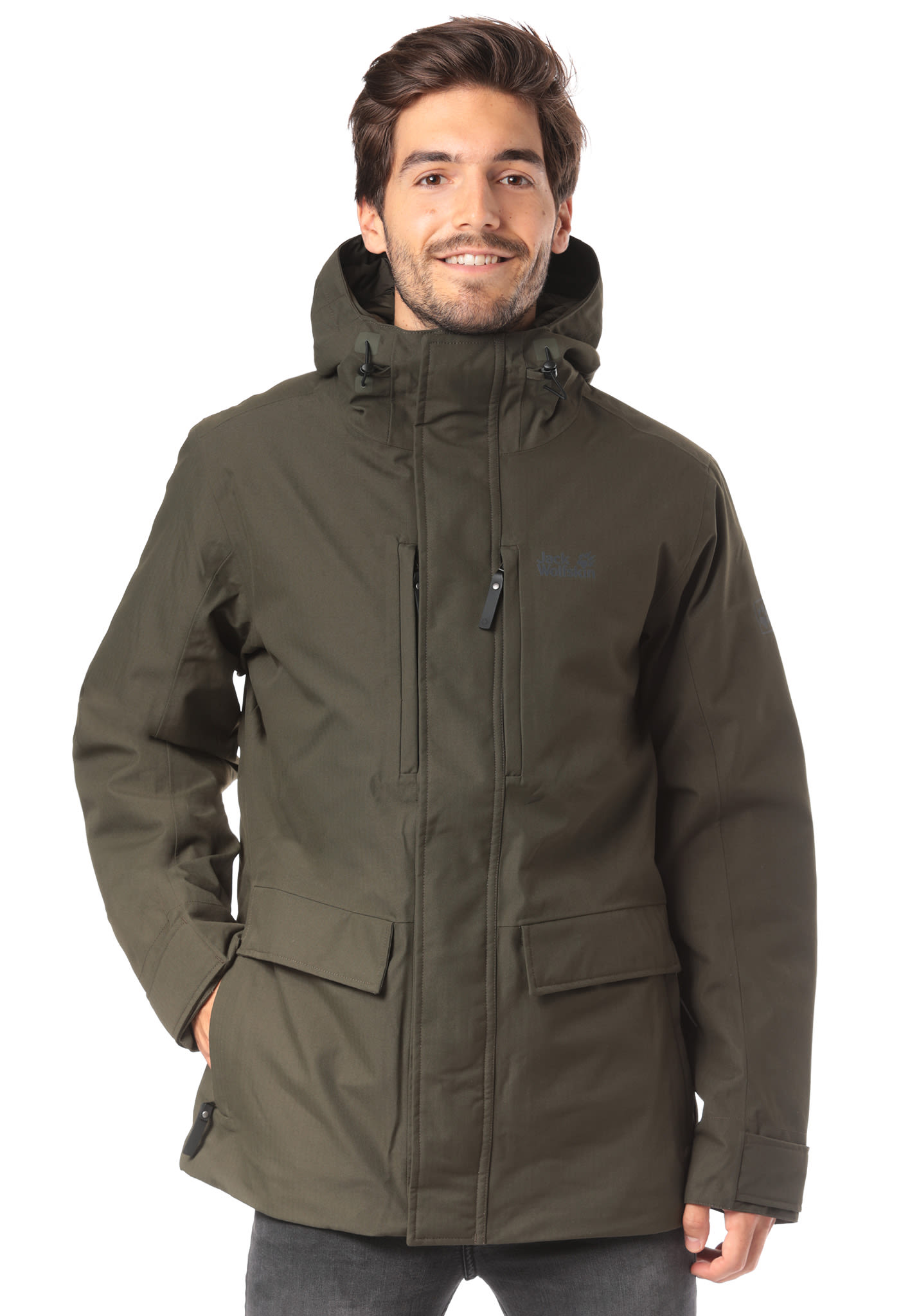 huge discount e8ee6 75fbc Jack Wolfskin West Coast - Giacca outdoor per Uomo - Verde
