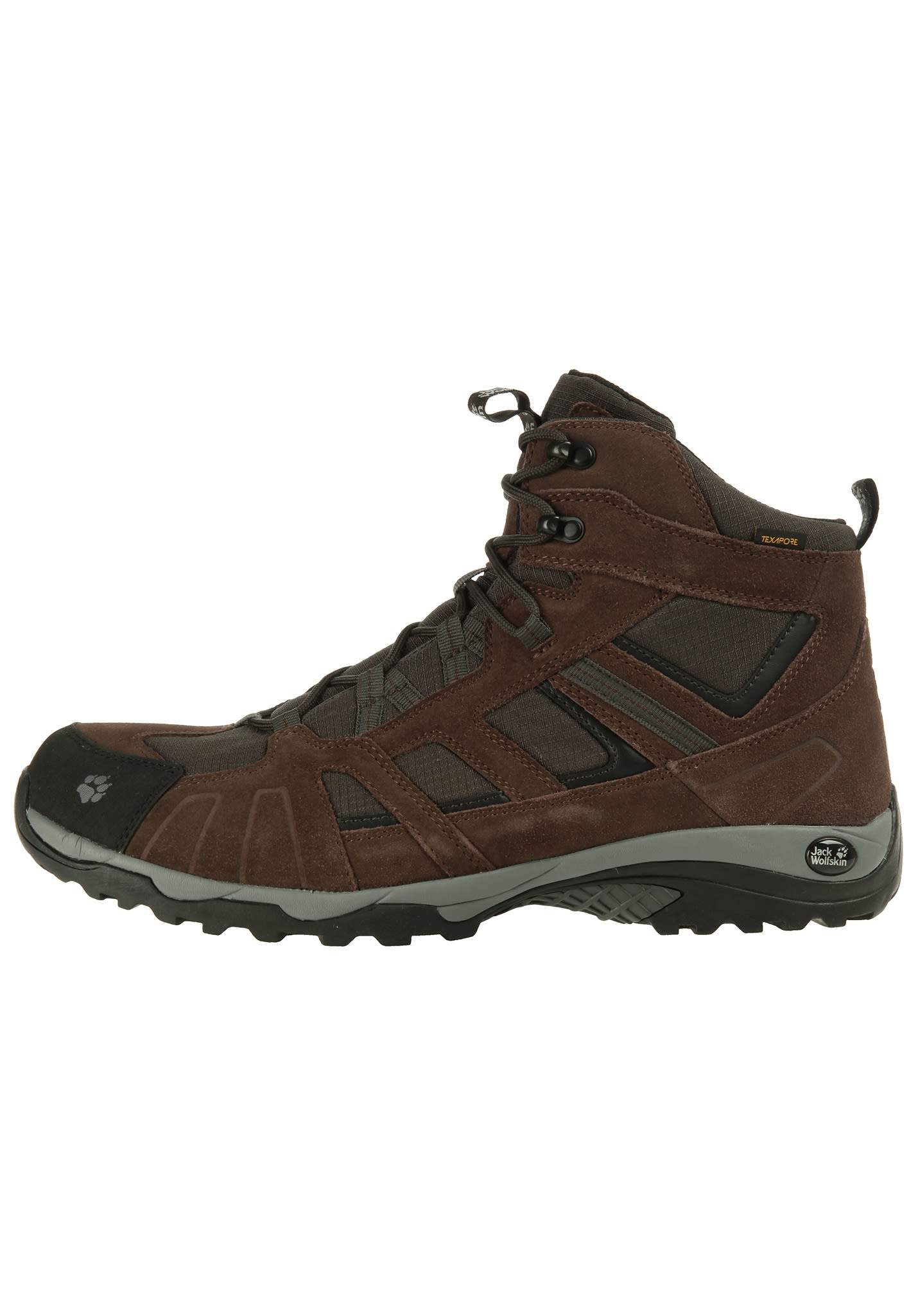 39712ecb32 Jack Wolfskin Vojo Hike Mid Texapore - Trekking Shoes for Men - Brown -  Planet Sports