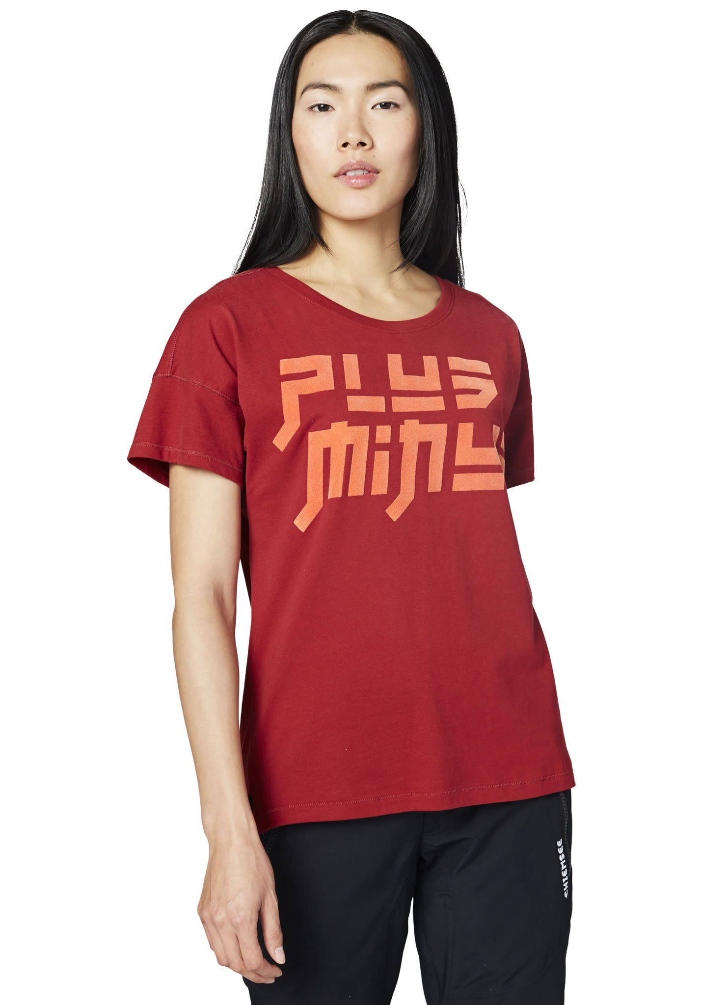 4758a48e80 Chiemsee Boxy-Shape - T-Shirt für Damen - Rot - Planet Sports