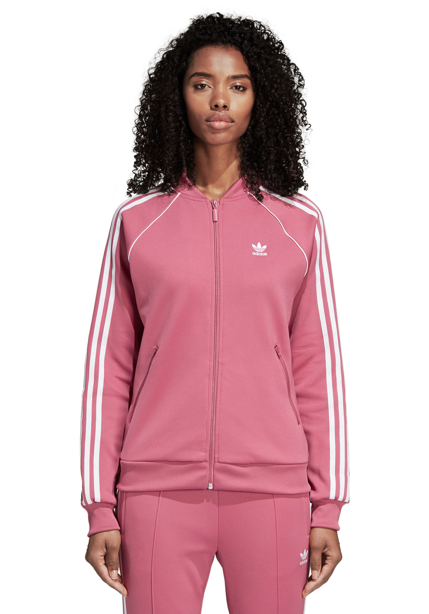 ADIDAS ORIGINALS SST Track Top for Women Pink