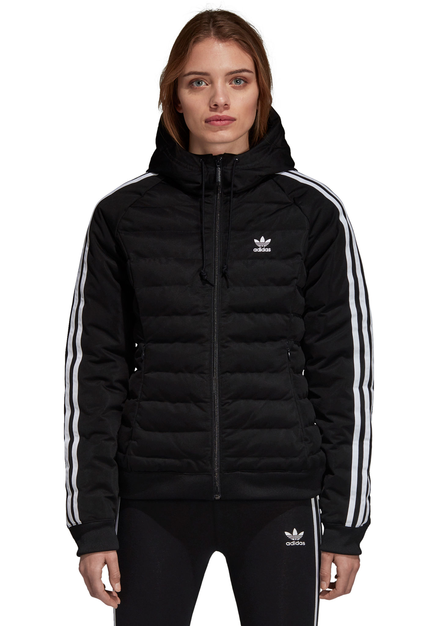 086e3915b815 ADIDAS ORIGINALS Slim - Jacket for Women - Black - Planet Sports