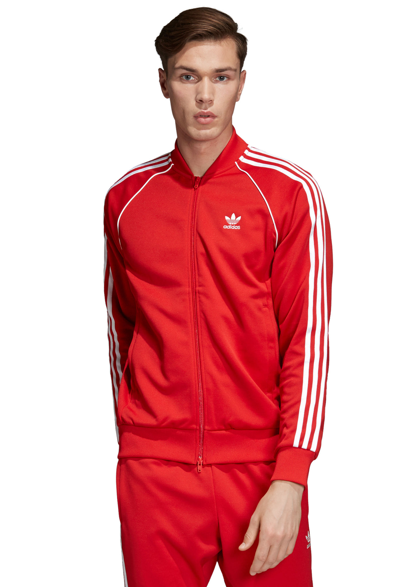 complet adidas homme rouge