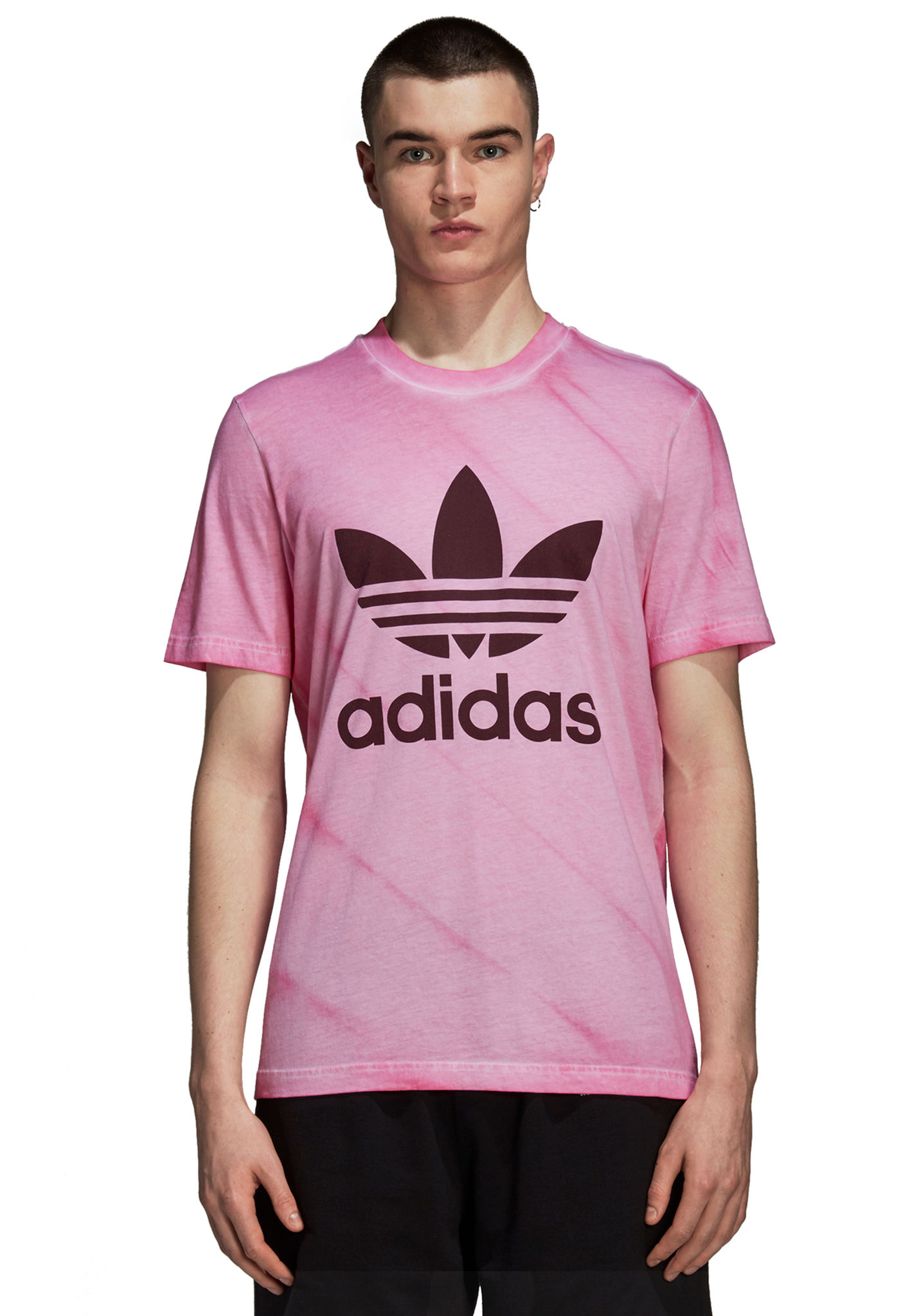 e87f5b990cca ADIDAS ORIGINALS Tie Dye - T-Shirt for Men - Pink - Planet Sports