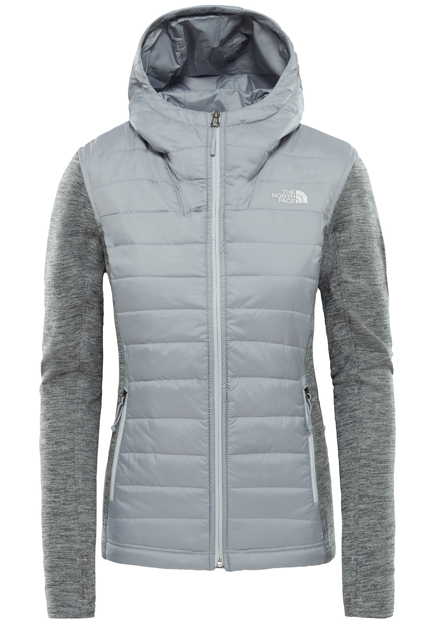 d3d98491f THE NORTH FACE Mashup Pl Hdie - Outdoor Jacket for Women - Grey