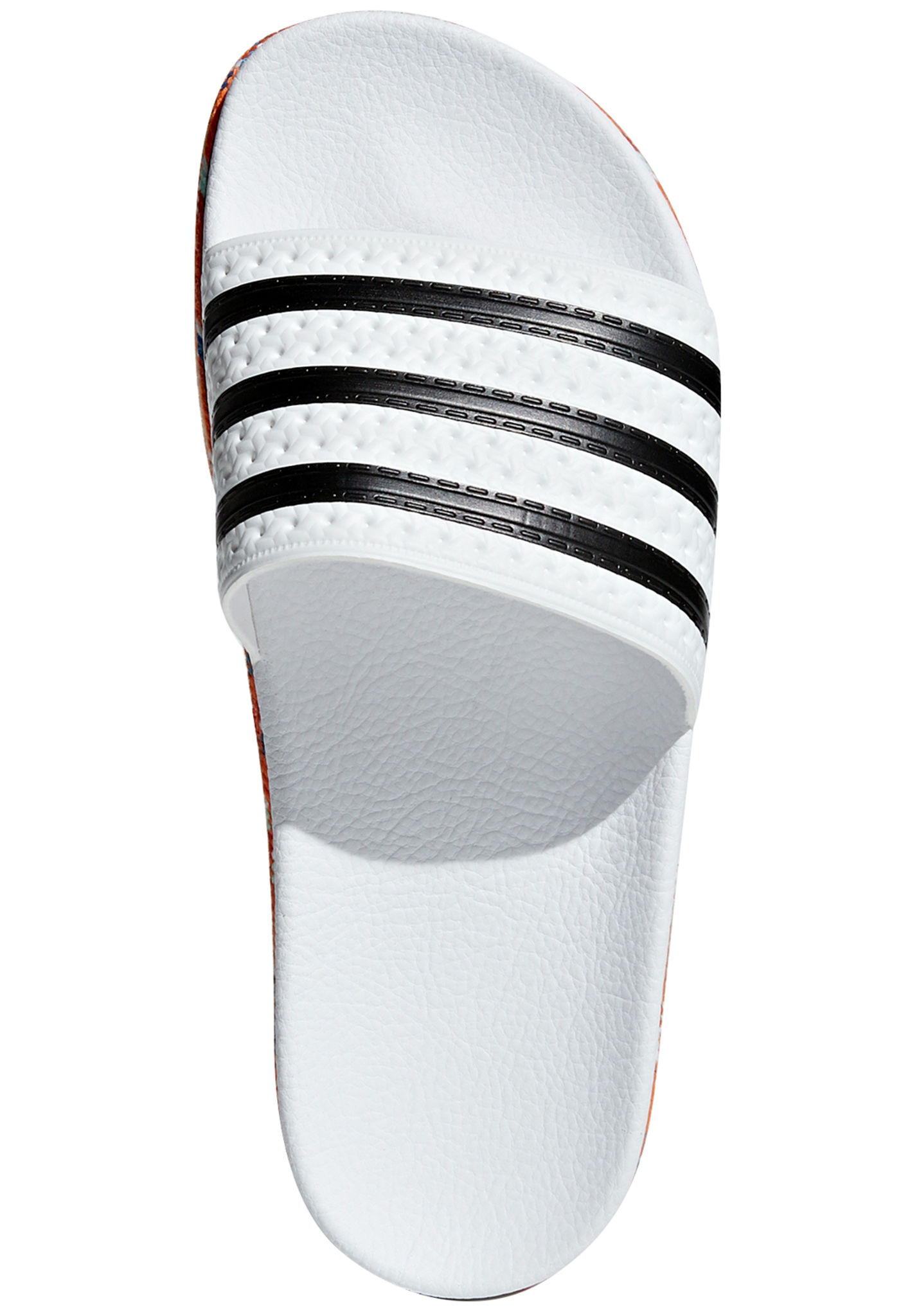 58a733fb70fef9 ADIDAS ORIGINALS Adilette New Bold - Sandals for Women - White - Planet  Sports