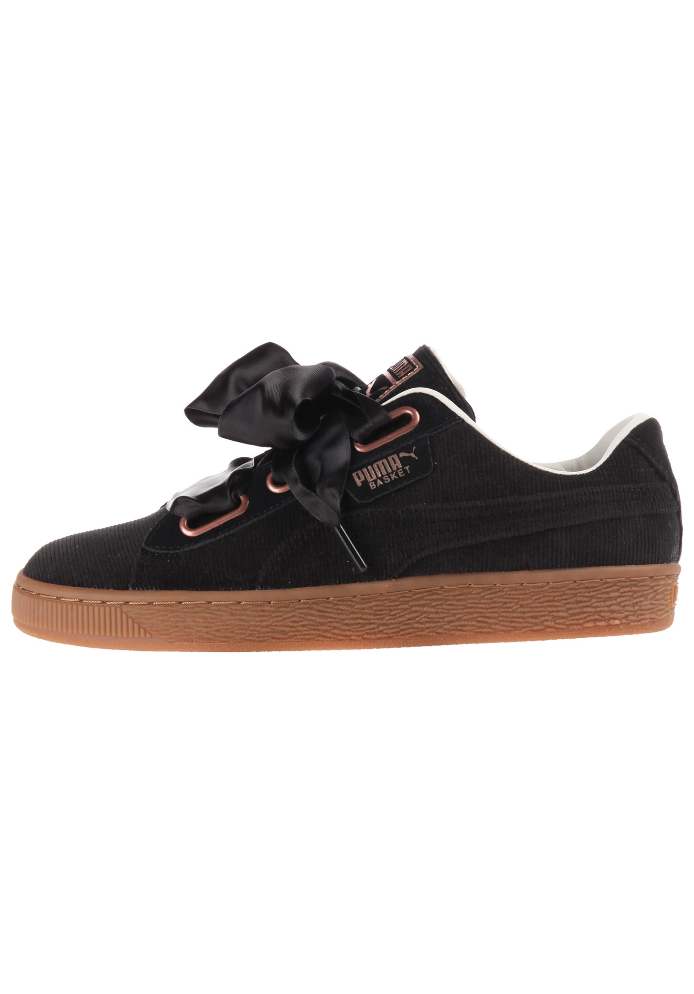 reputable site 9dec9 eb70a Puma Basket Heart Corduroy - Sneakers for Women - Black