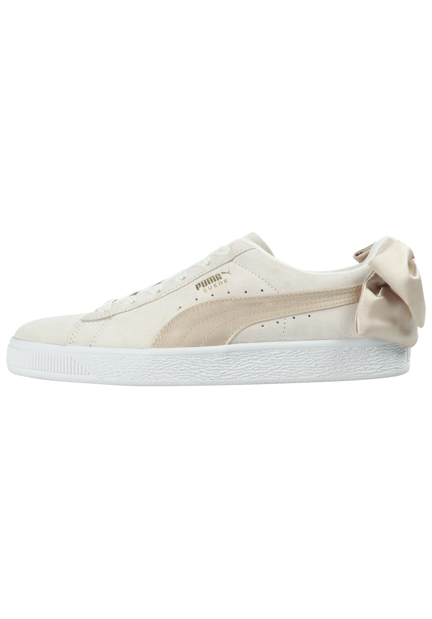 Puma Suede Bow Varsity - Sneakers for Women - Beige - Planet Sports 03be7f436