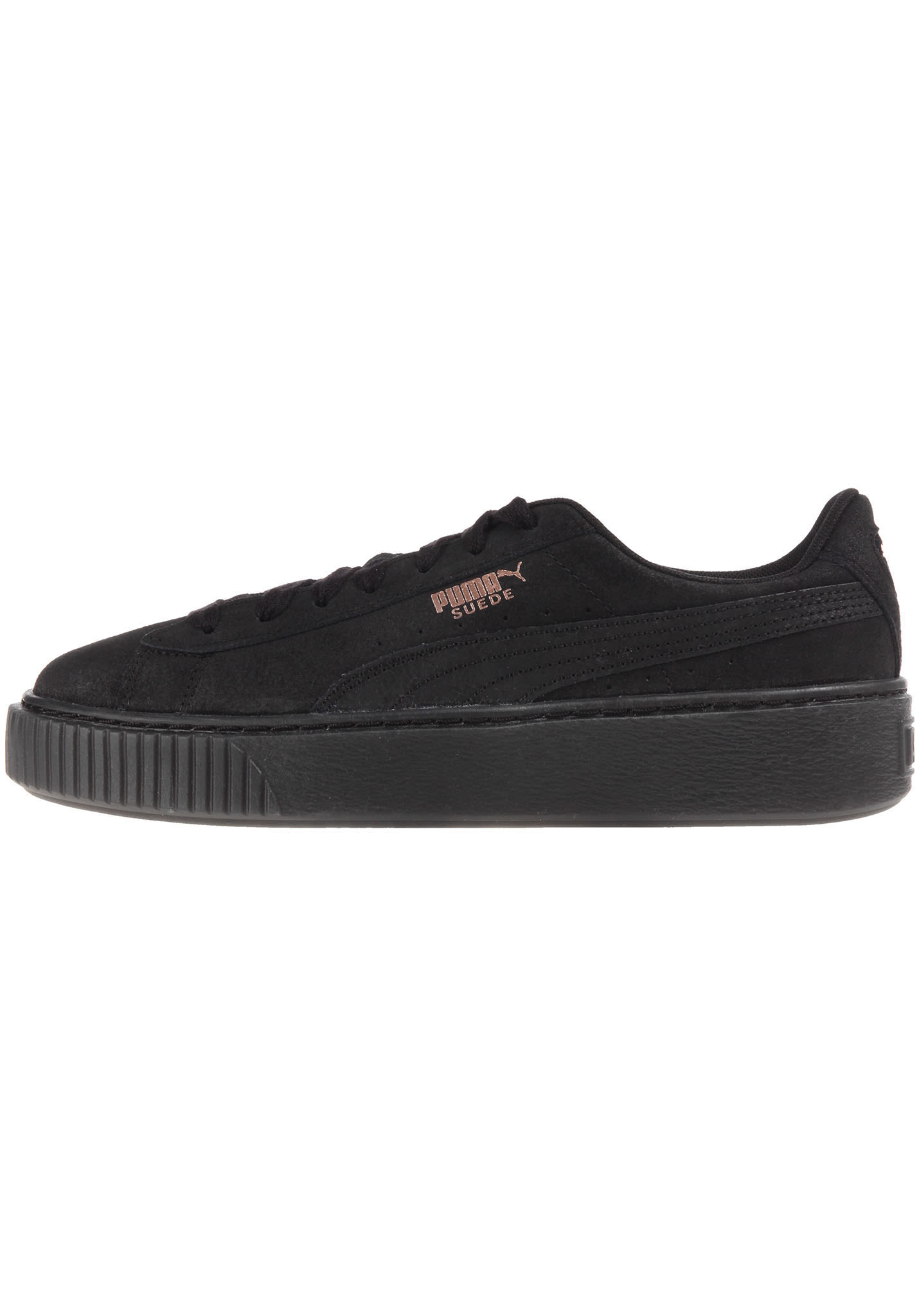 100% authentique 064b5 614df Puma Suede Platform Artica - Sneakers for Women - Black