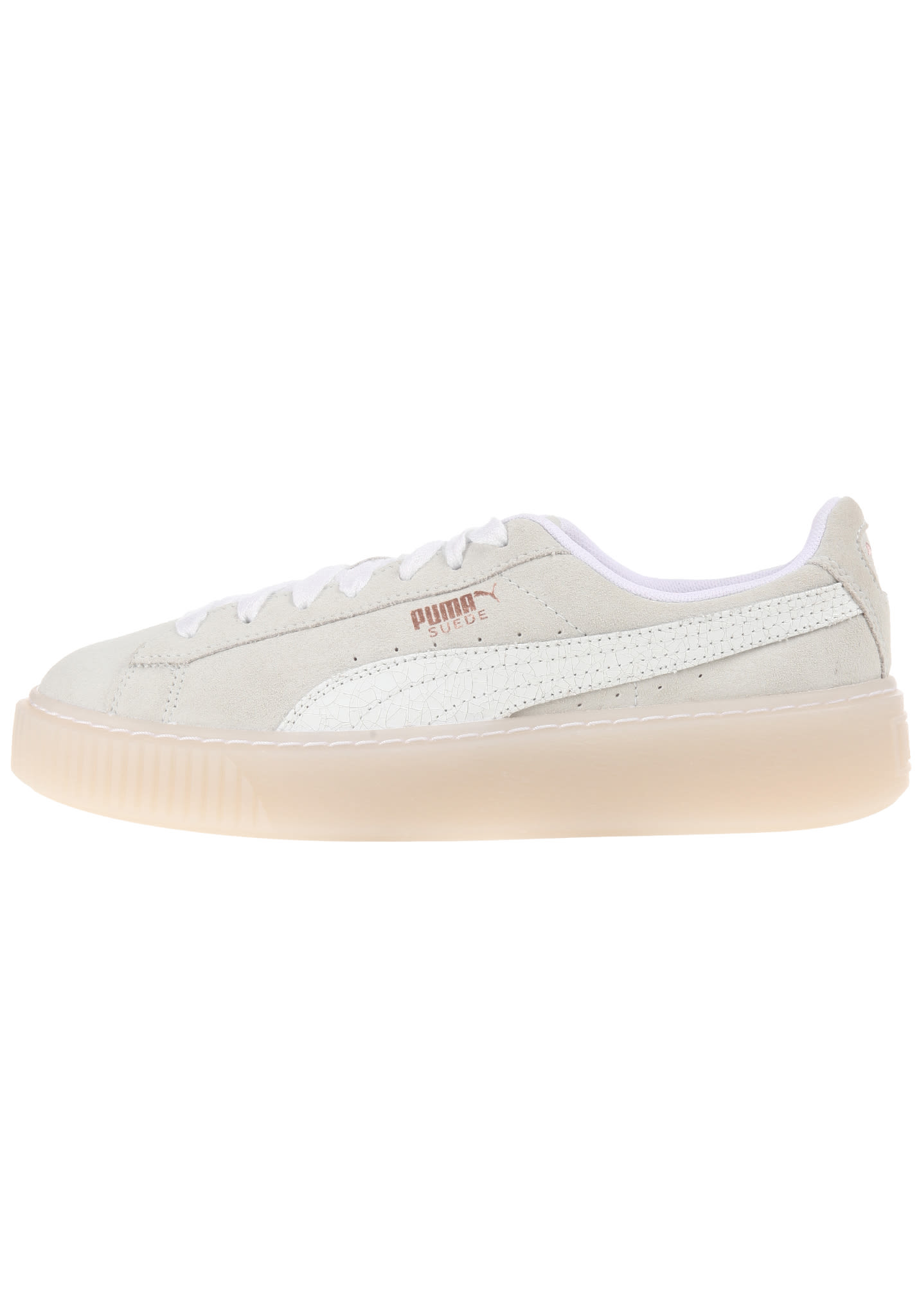 sports shoes 2f7bd d5c35 Puma Suede Platform Artica - Sneakers for Women - White
