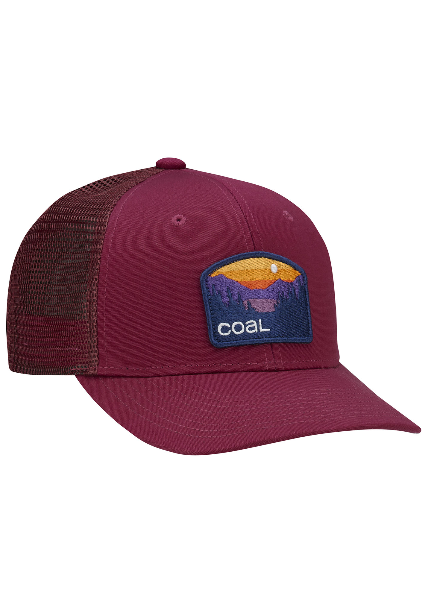 4d92b26e12960 Coal The Hauler Low - Trucker Cap - Red - Planet Sports