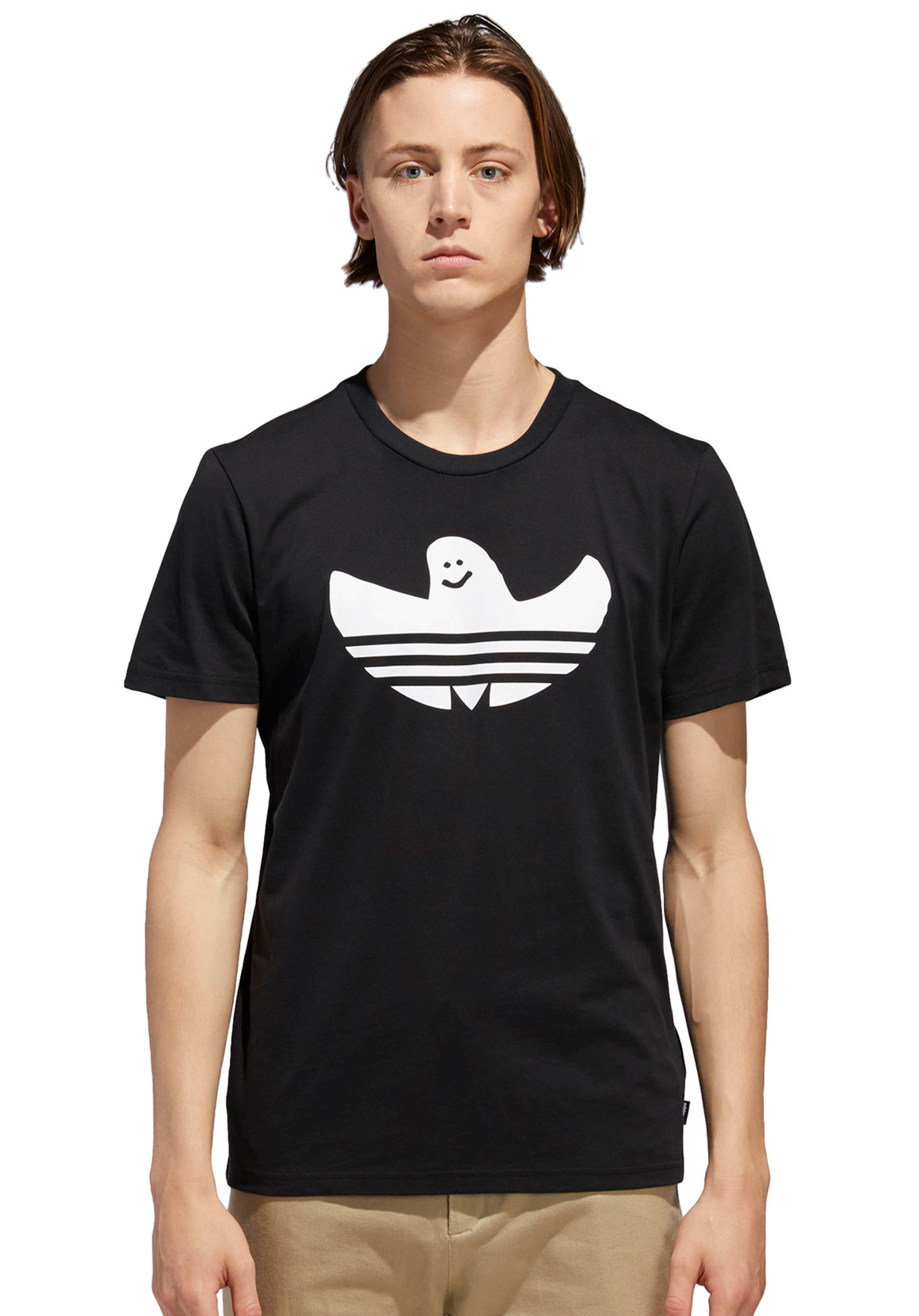 5c48d010 Adidas Skateboarding Solid Shmoo - T-Shirt for Men - Black - Planet Sports