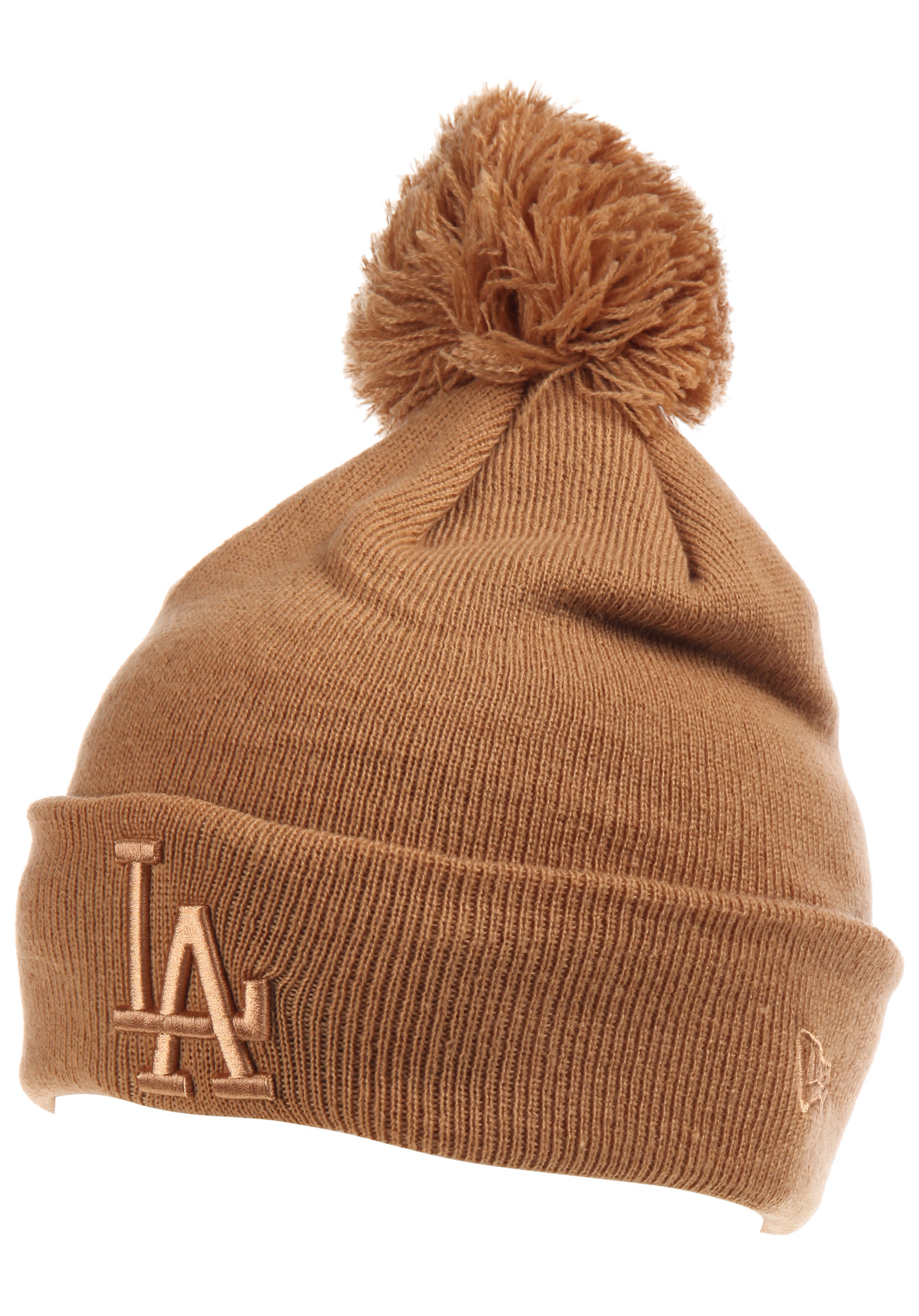 afd09425ee1 NEW Era Bobble Cuff Los Angeles Dodgers - Beanie for Women - Brown - Planet  Sports