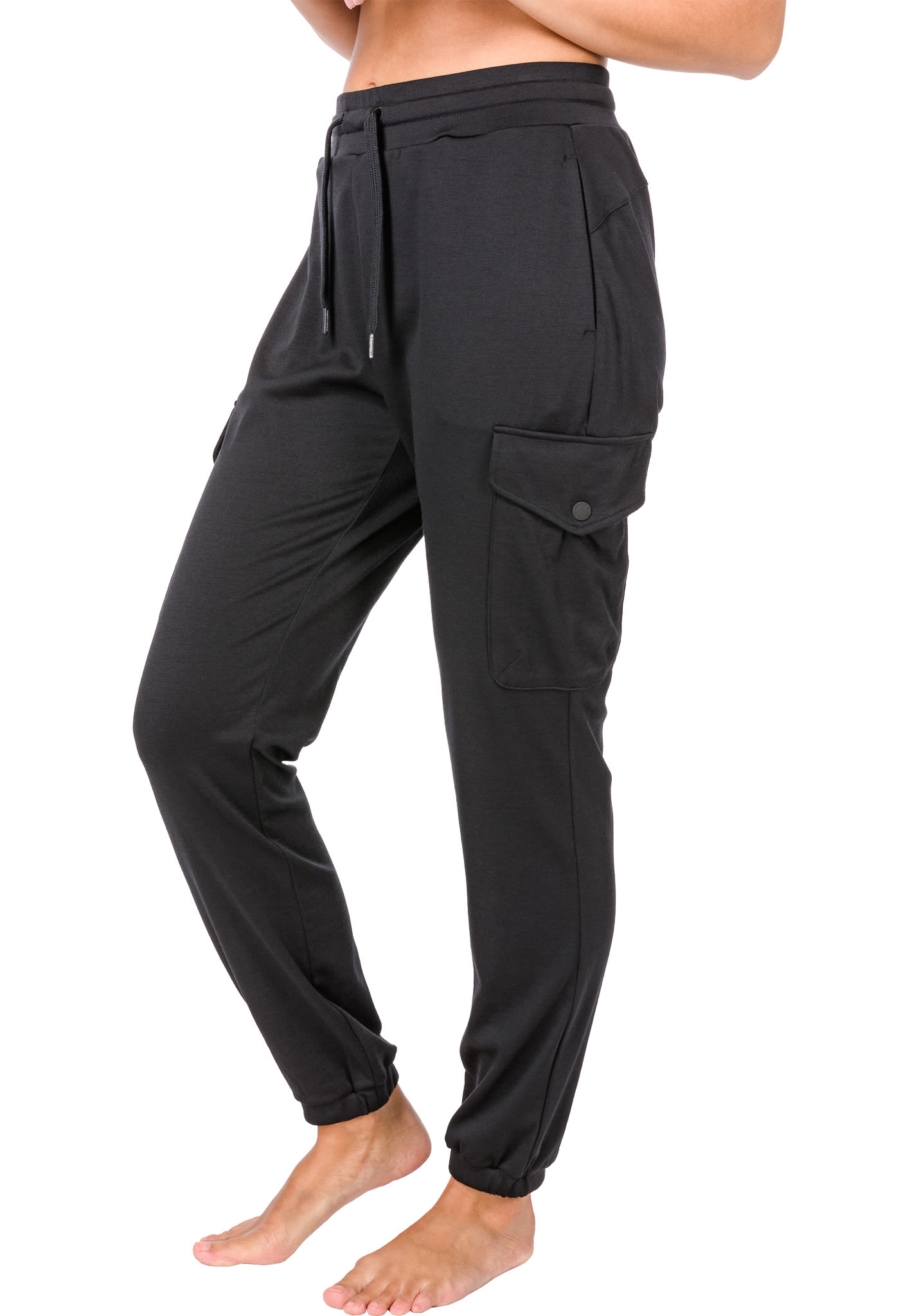 9e519b5007d47e SUPER.NATURAL Cargo - Hose für Damen - Schwarz - Planet Sports