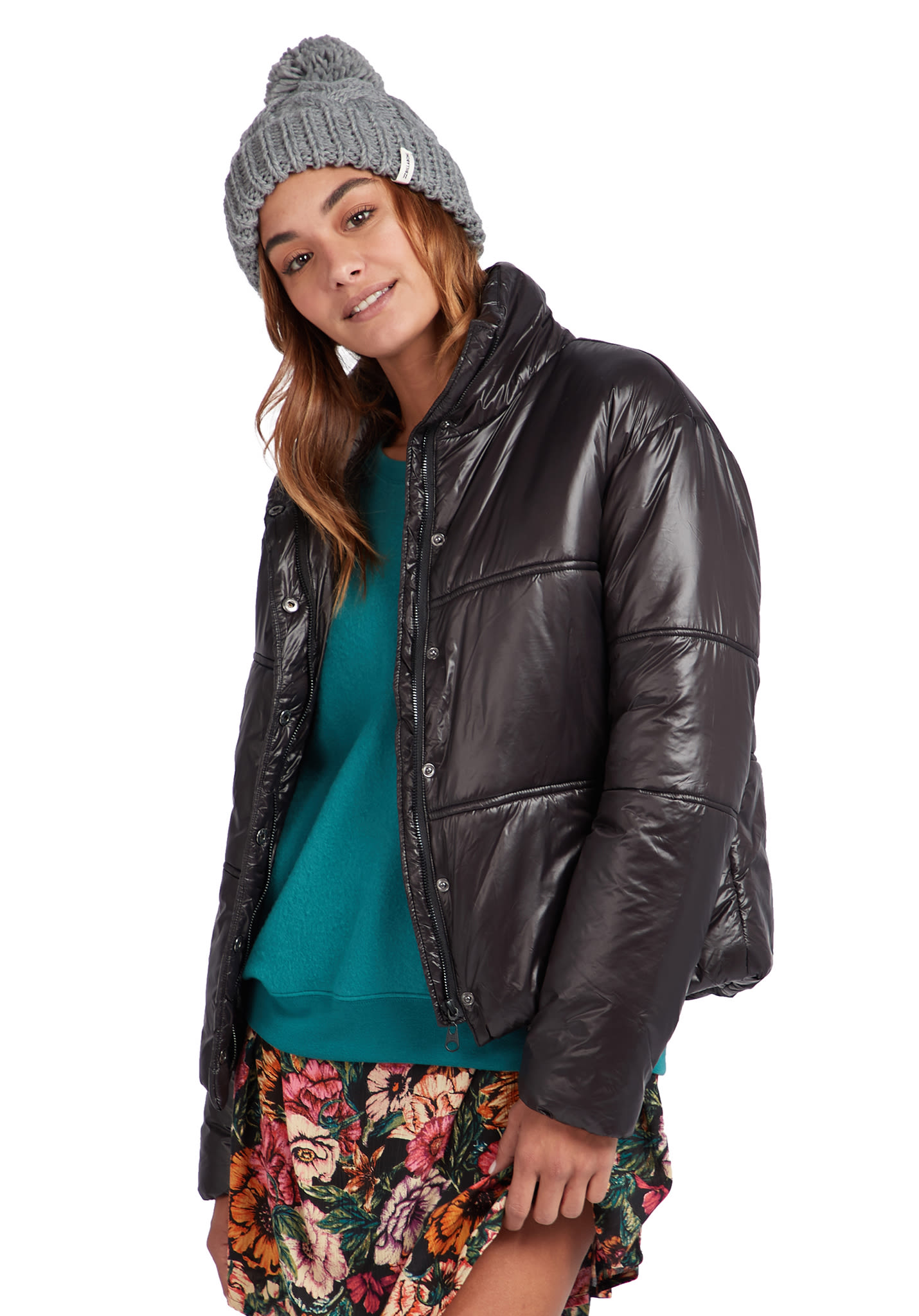 8016dd354f BILLABONG Free Daze - Jacket for Women - Black - Planet Sports