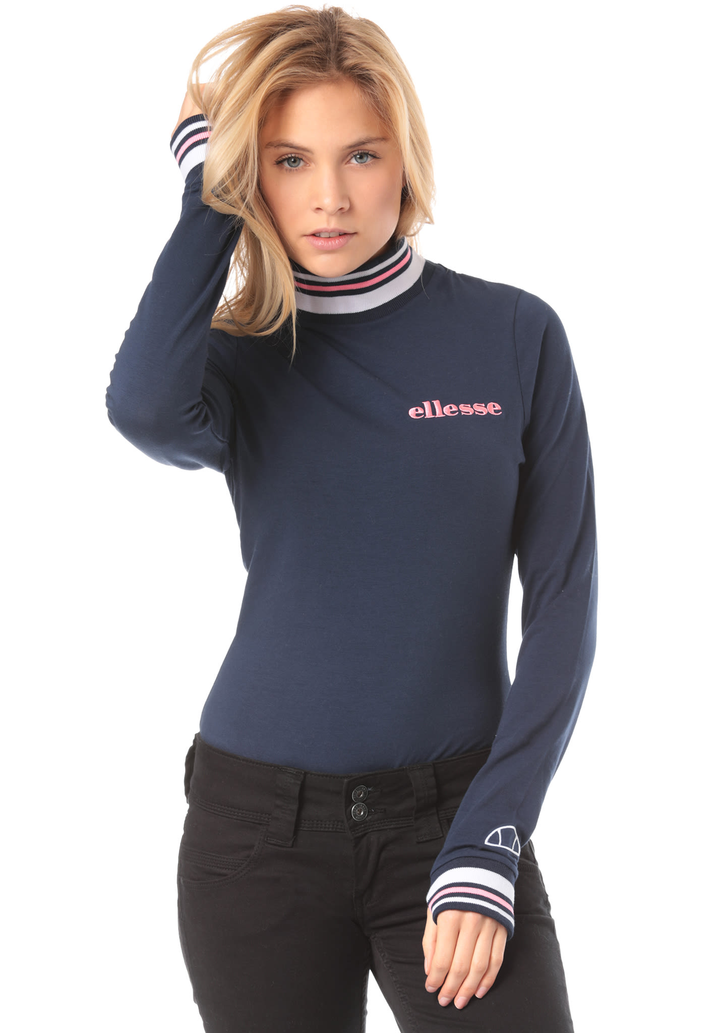 75fb81d016 ELLESSE Amaro Body - Long-sleeved Shirt for Women - Blue - Planet Sports