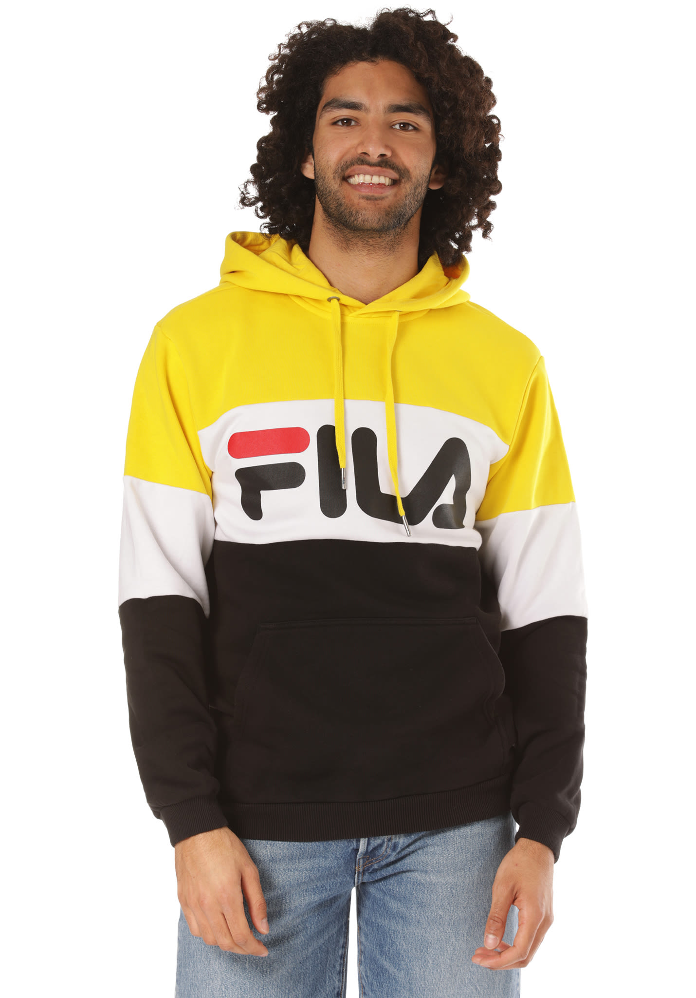 4b6f62c41f Fila Urban Line Night Blocked - Hooded Sweatshirt for Men - Multicolor