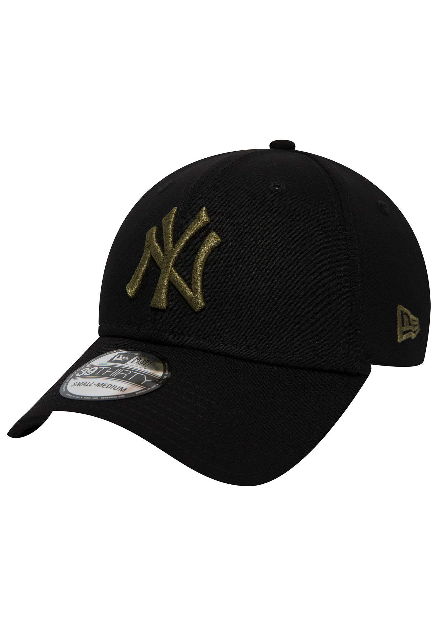 6846a6fd578 NEW Era 39Thirty New York Yankees - Flexfit Cap - Black - Planet Sports