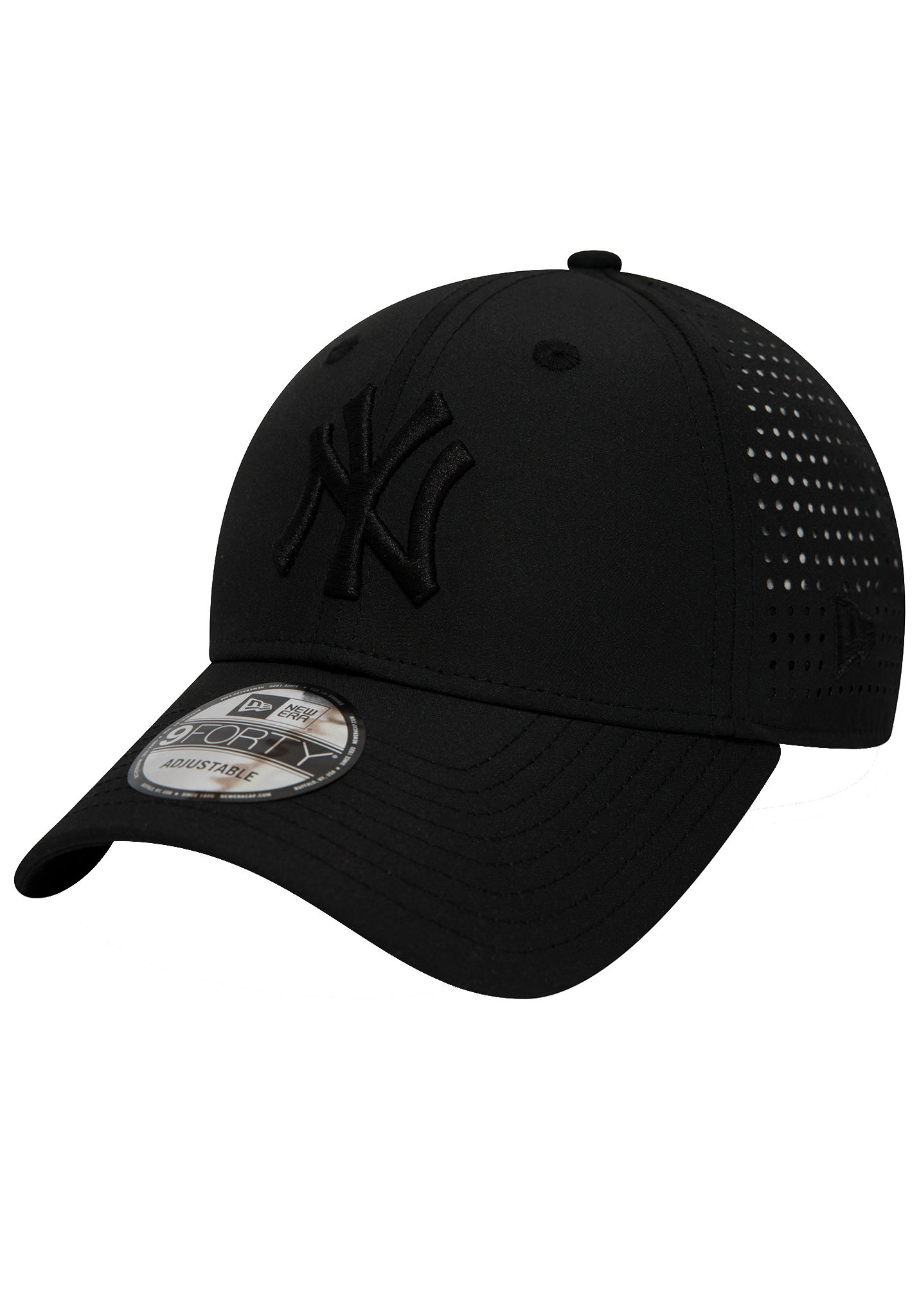 1360b9270f0338 NEW Era 9Forty Feather New York Yankees - Cap - Black - Planet Sports