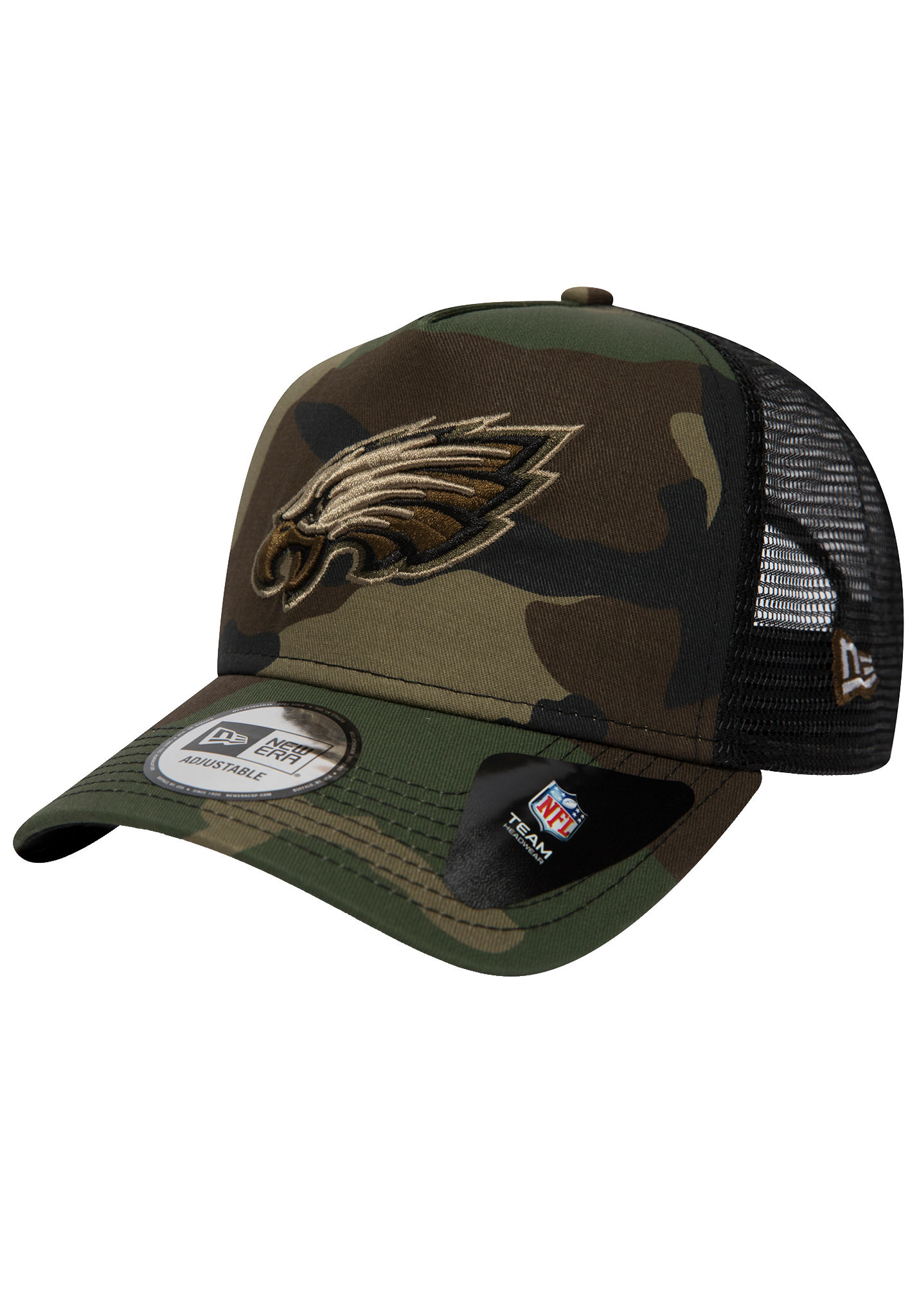 11aa501663 NEW Era Philadelphia Eagles - Trucker Cap - Camo - Planet Sports