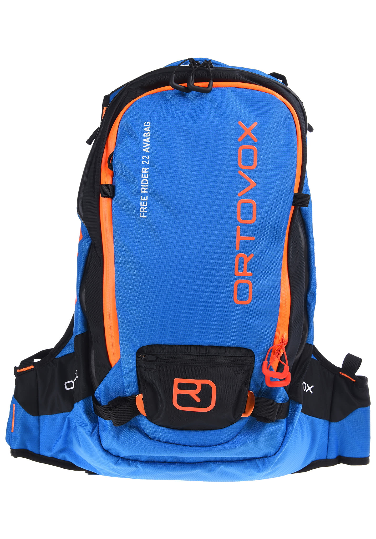fc2a6ac411 ORTOVOX Free Rider 22L AVABAG Kit - Avalanche Backpack - Blue - Planet  Sports