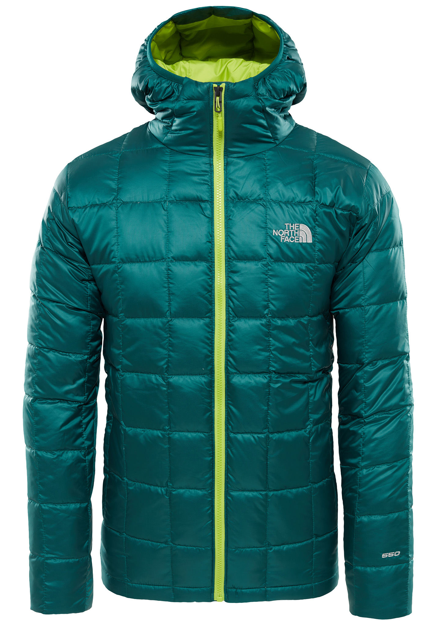 7cfcd5ba2 THE NORTH FACE Kabru Hooded Down - Outdoor Jacket for Men - Green