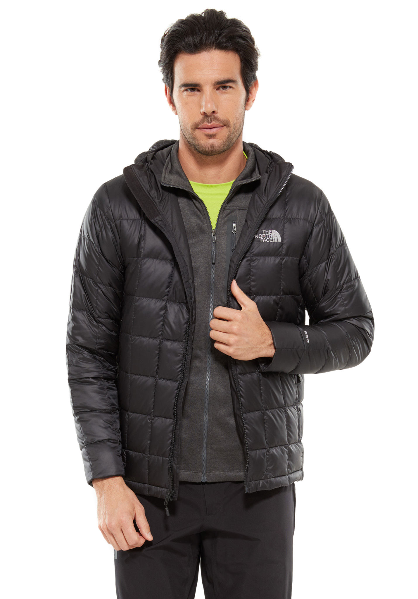 a63d3c0a0 THE NORTH FACE Kabru Hooded Down - Outdoor Jacket for Men - Black
