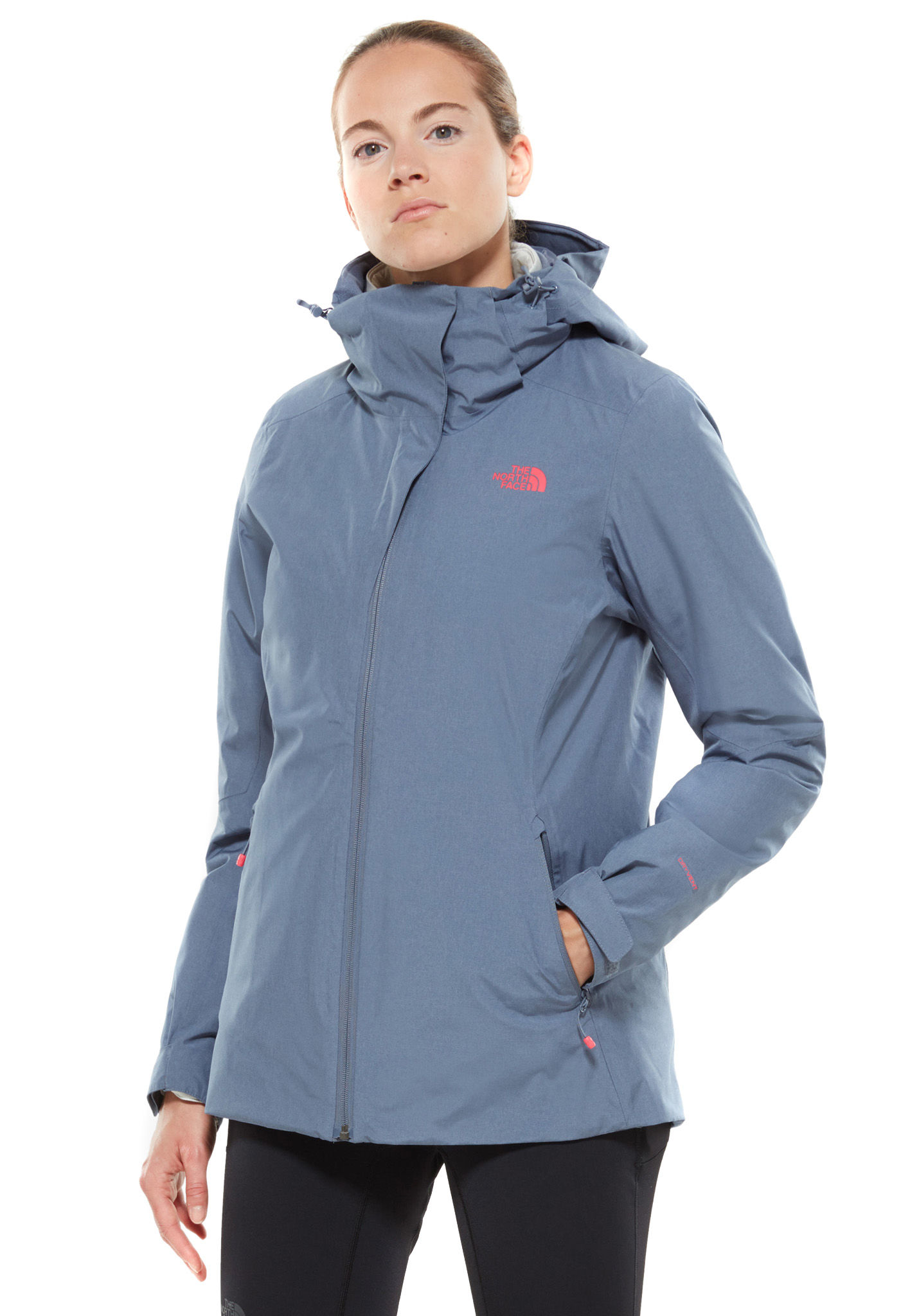 1d327a33 THE NORTH FACE Inlux Triclimate - Jacket for Women - Grey - Planet Sports
