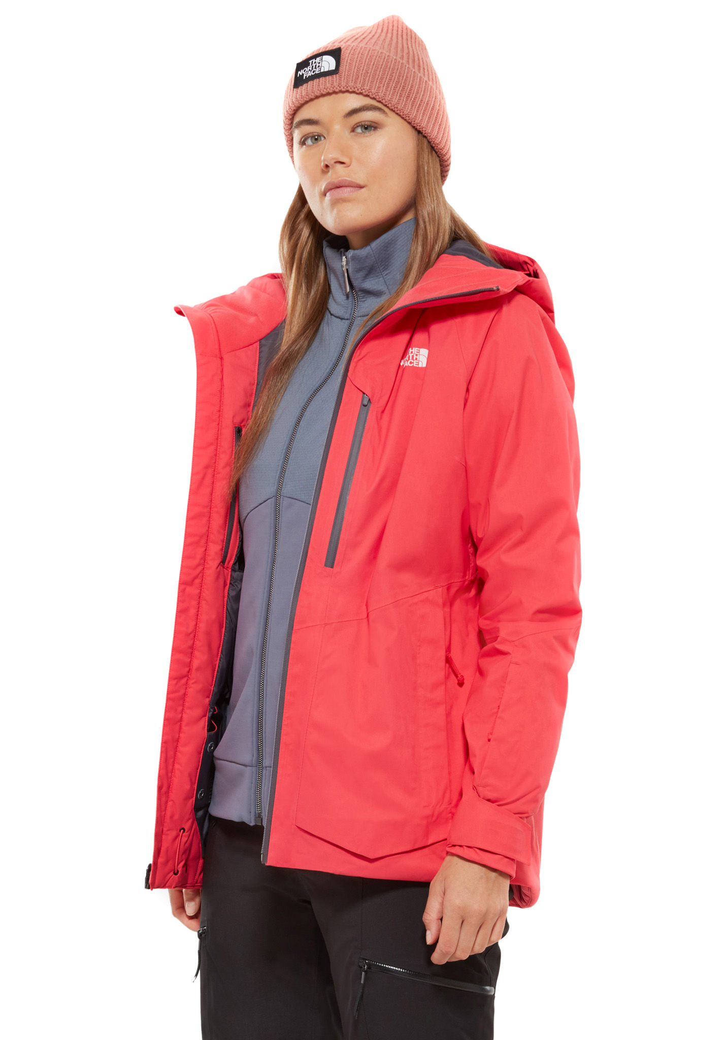 THE NORTH FACE Sickline - Ski Jacket for Women - Pink - Planet Sports 03ae0869d5