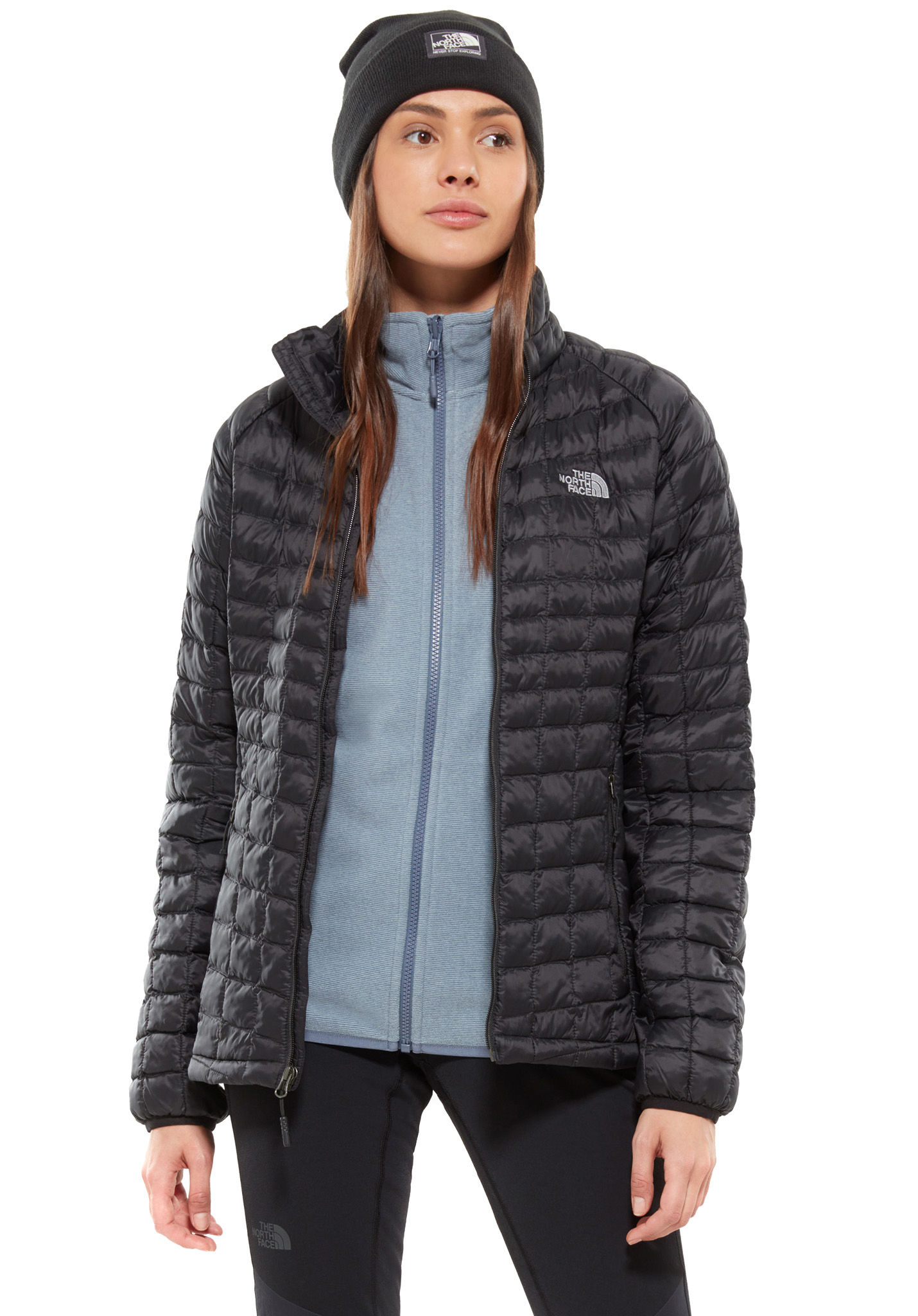 ef7f75147645 THE NORTH FACE Thermoball Sport - Outdoor Jacket for Women - Black - Planet  Sports