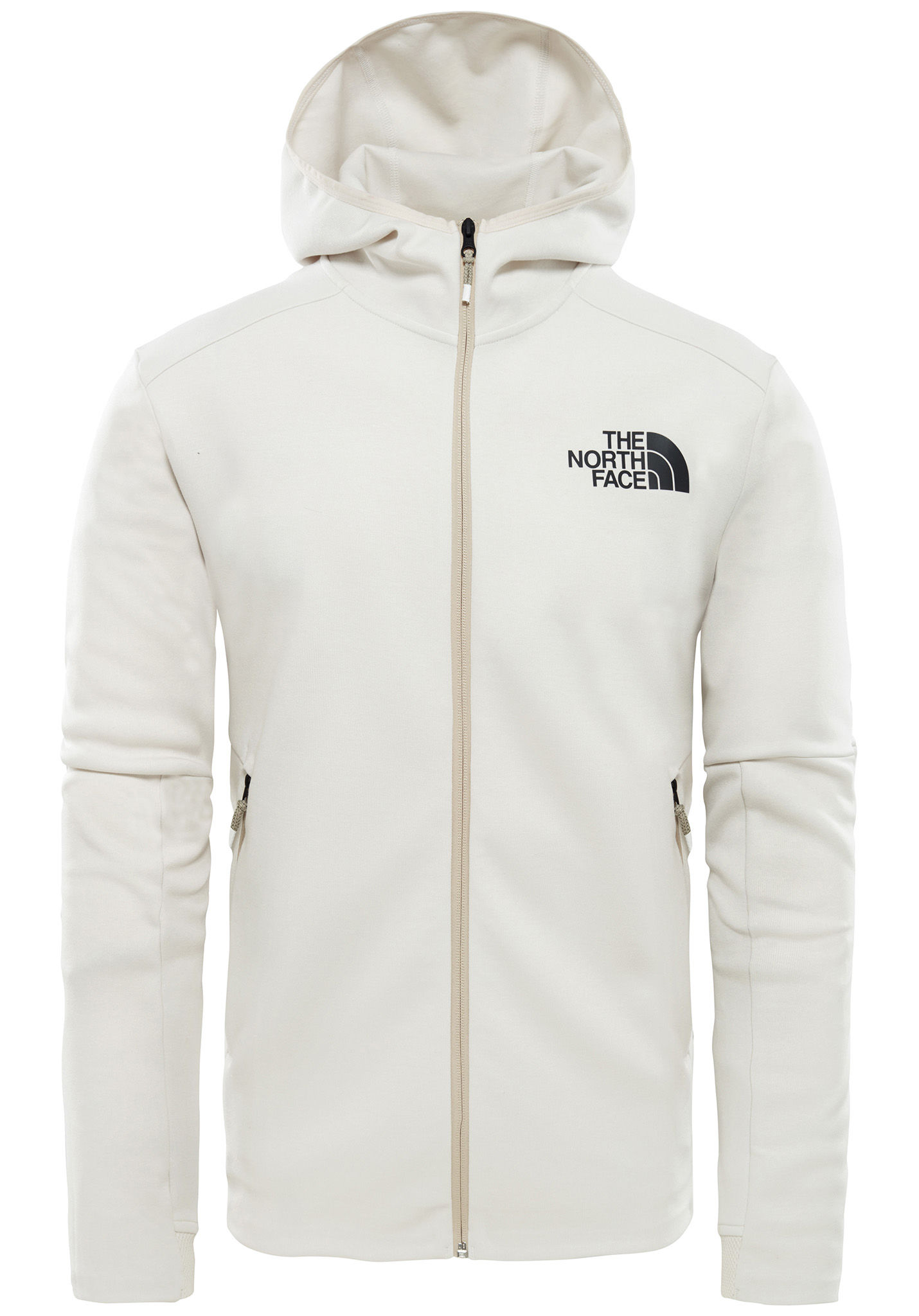 bddd3f531 THE NORTH FACE Vistak Fz Hood - Hooded Jacket for Men - White