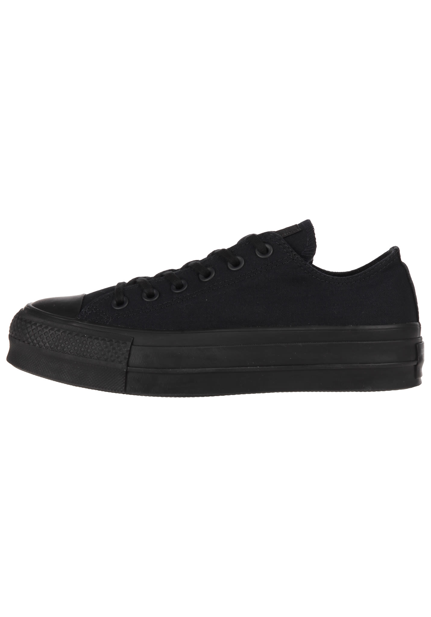 4c32f585a162 Converse Chuck Taylor All Star Clean Lift Ox - Sneakers for Women - Black -  Planet Sports