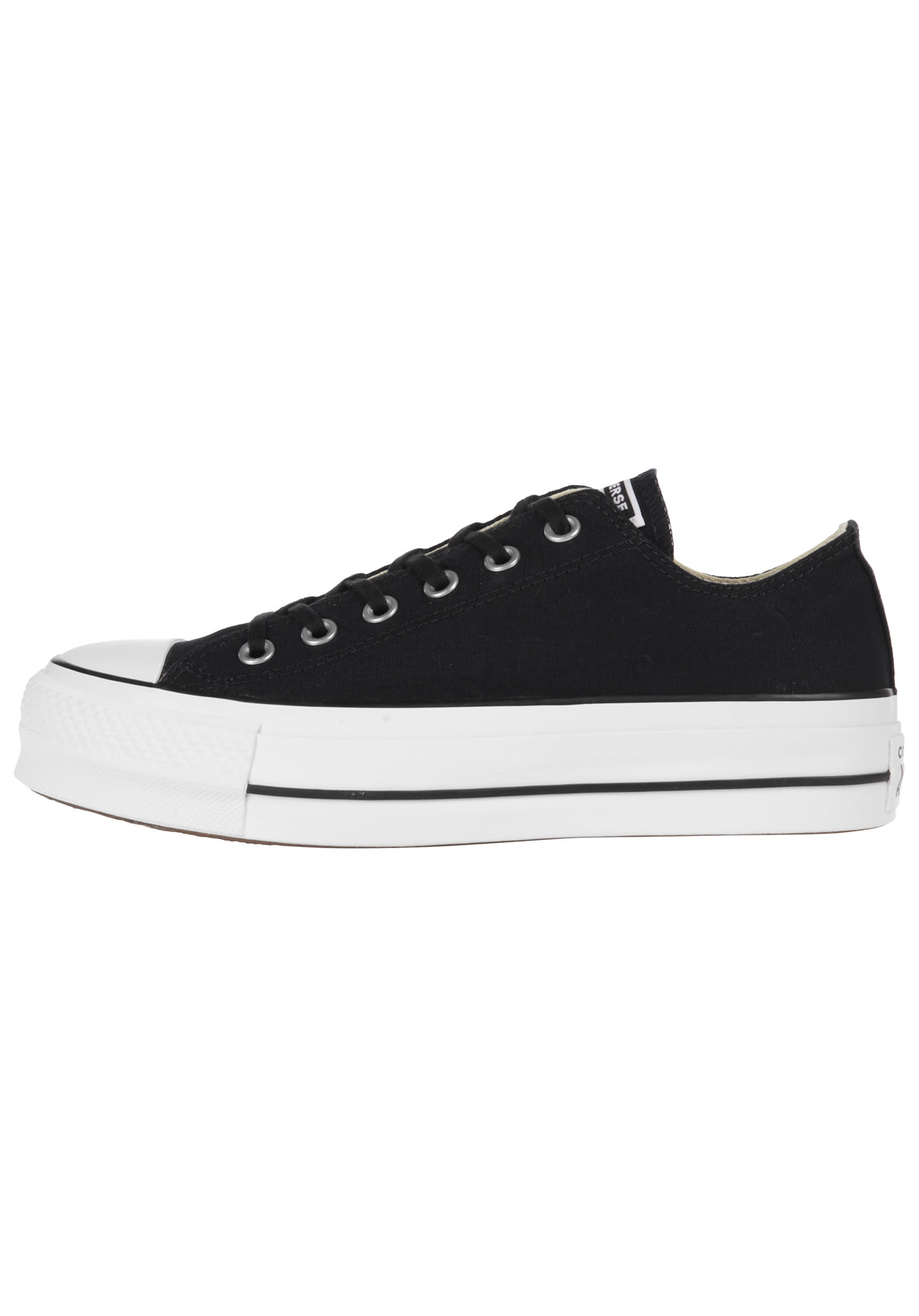 ad9b76057 Converse Chuck Taylor All Star Lift Ox - Sneakers for Women - Black -  Planet Sports